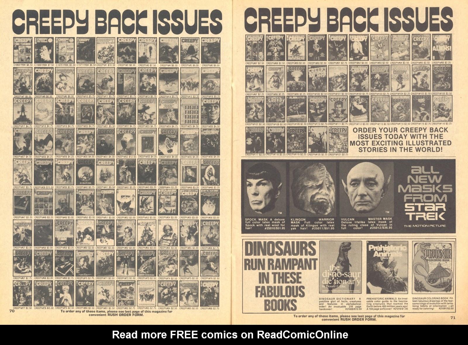 Creepy (1964) Issue #122 #122 - English 65