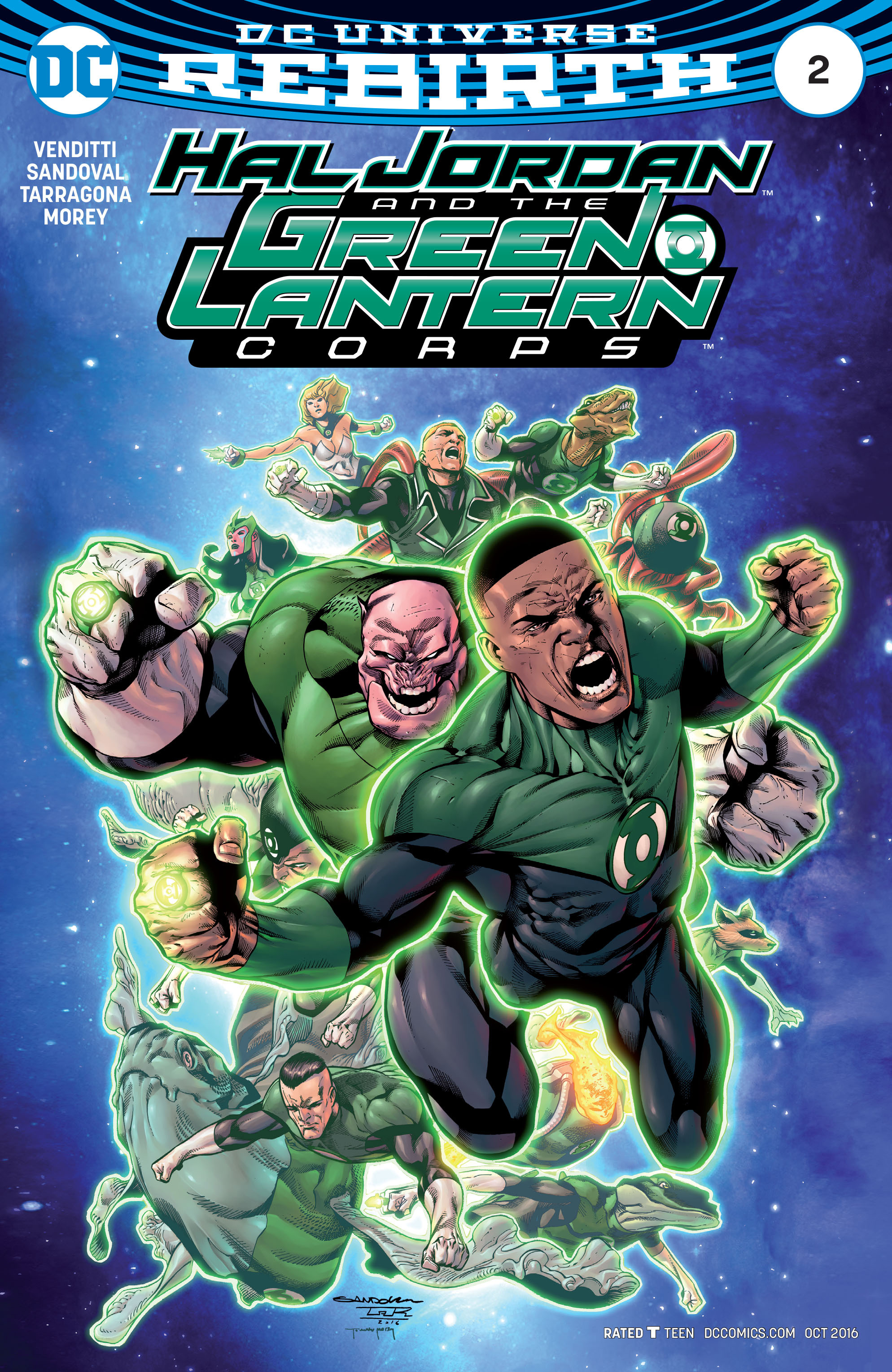 Hal Jordan And The Green Lantern Corps 2 Page 1