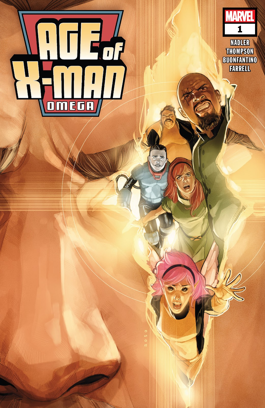 Read online Age of X-Man Omega comic -  Issue # Full - 1