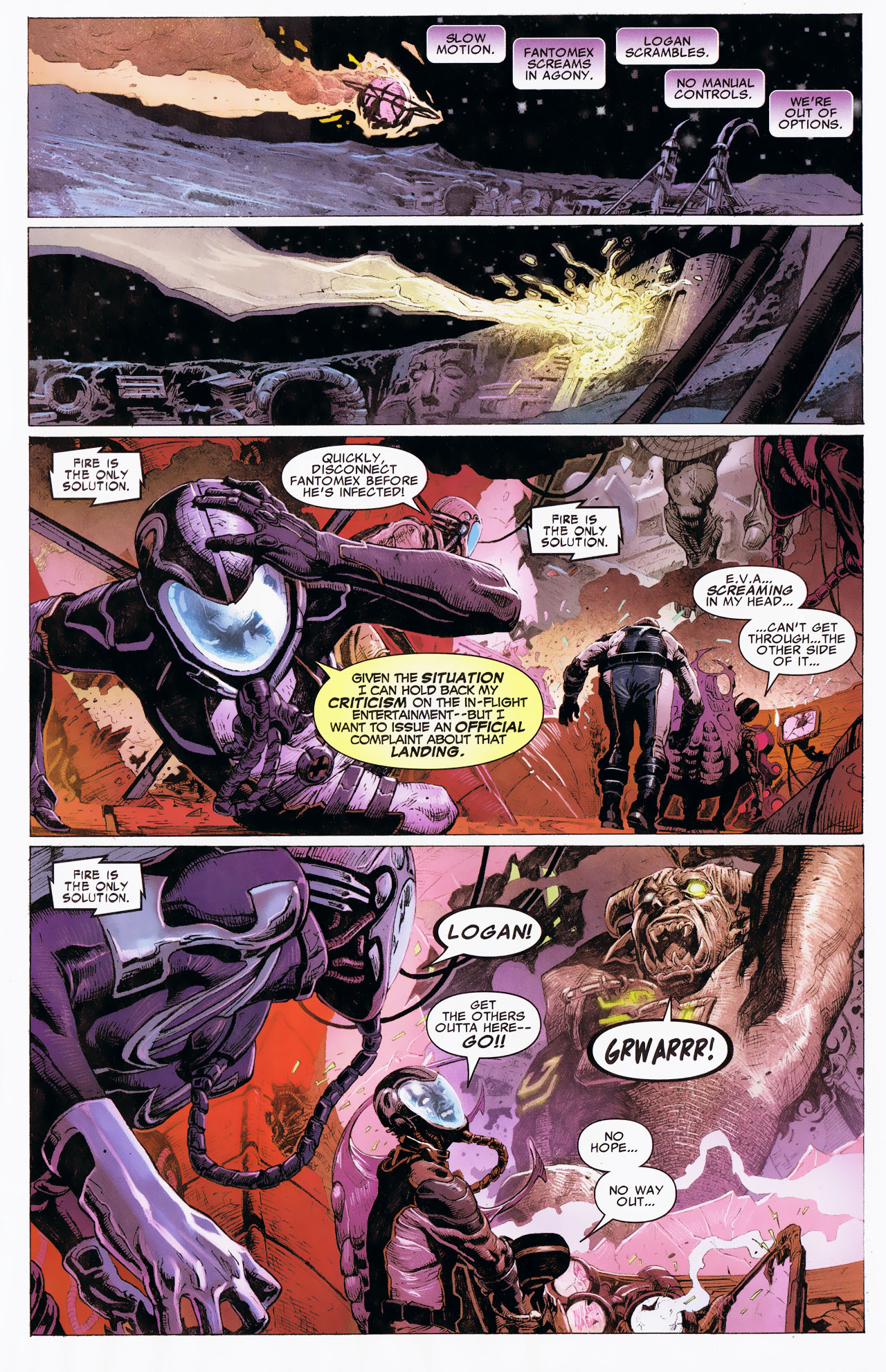 Read online Uncanny X-Force: The Apocalypse Solution comic -  Issue # Full - 43