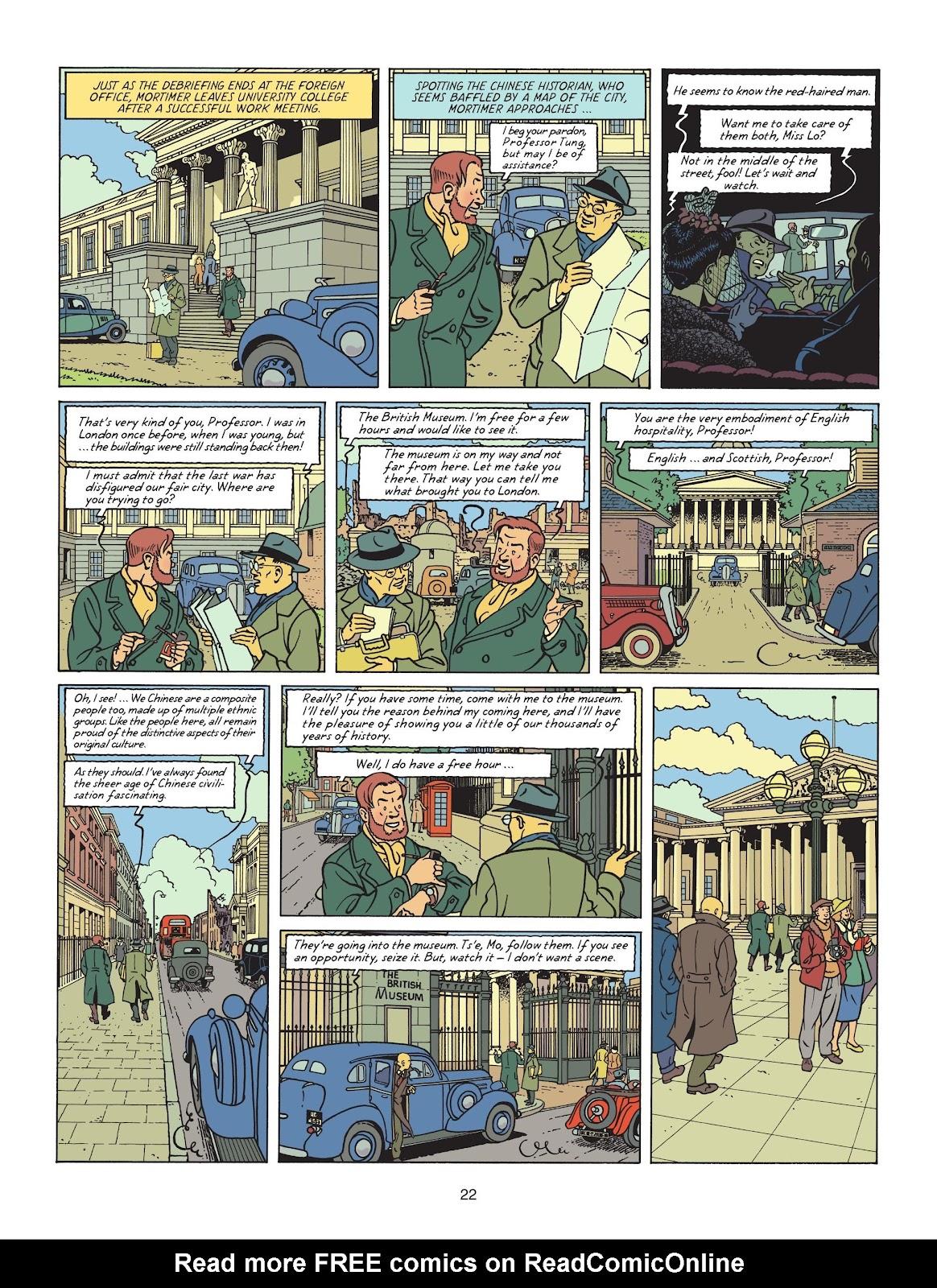 Read online Blake & Mortimer comic -  Issue #25 - 24