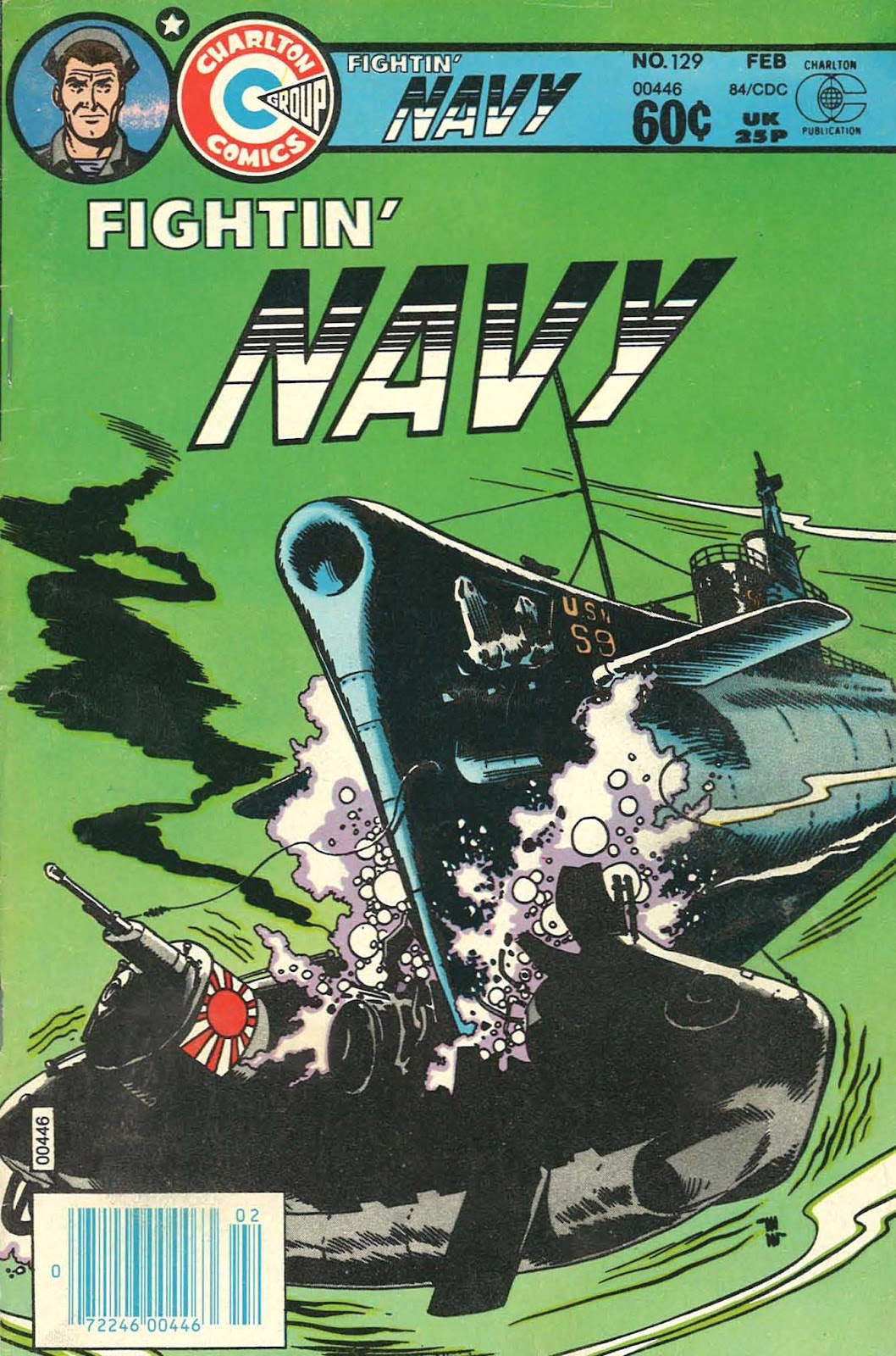 Read online Fightin' Navy comic -  Issue #129 - 1