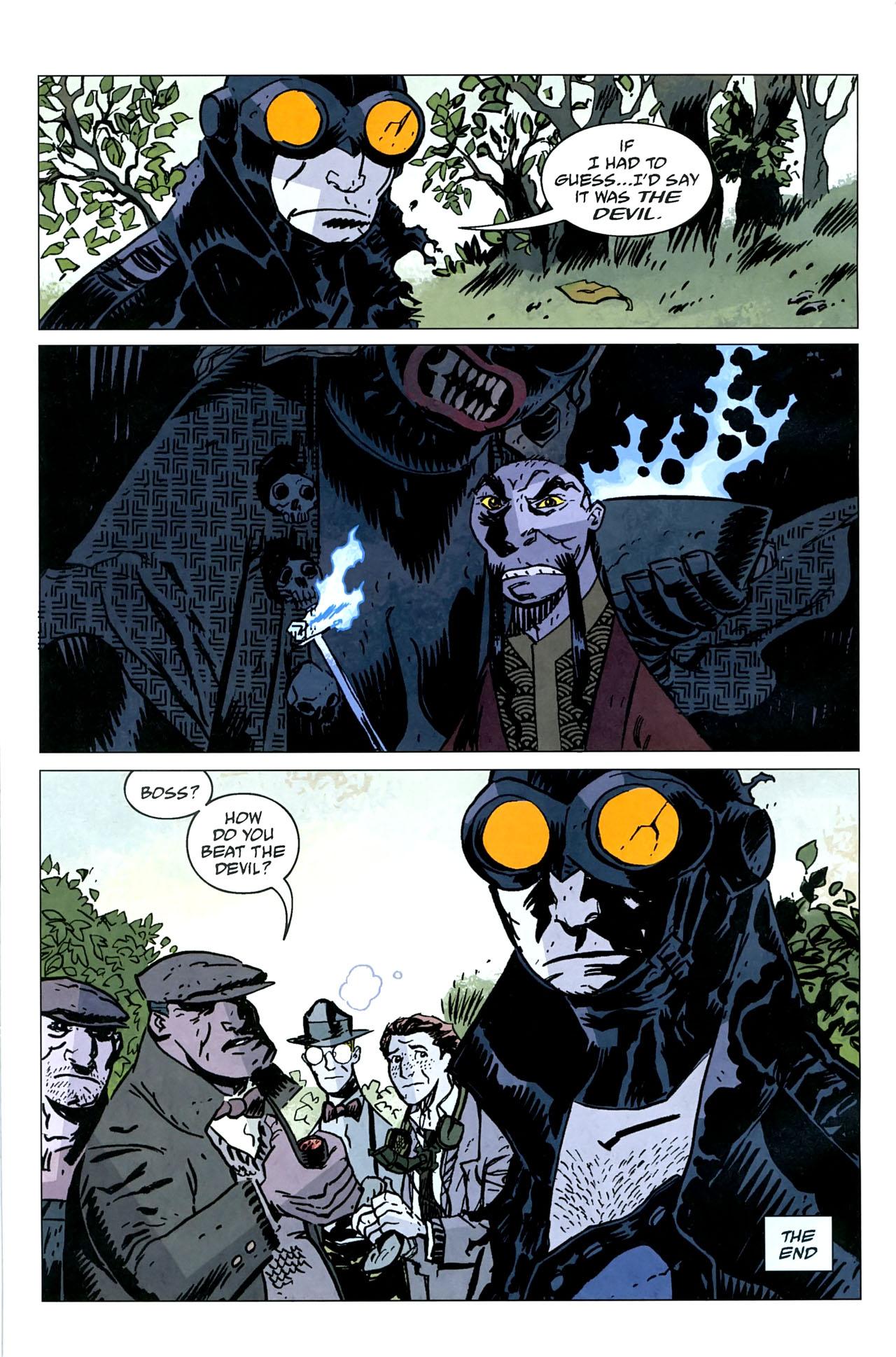 Read online Lobster Johnson: The Iron Prometheus comic -  Issue #5 - 26