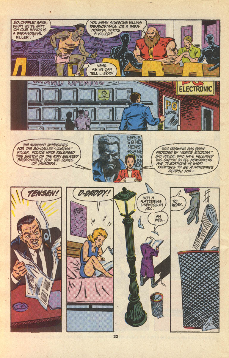 Read online Justice (1986) comic -  Issue #16 - 24