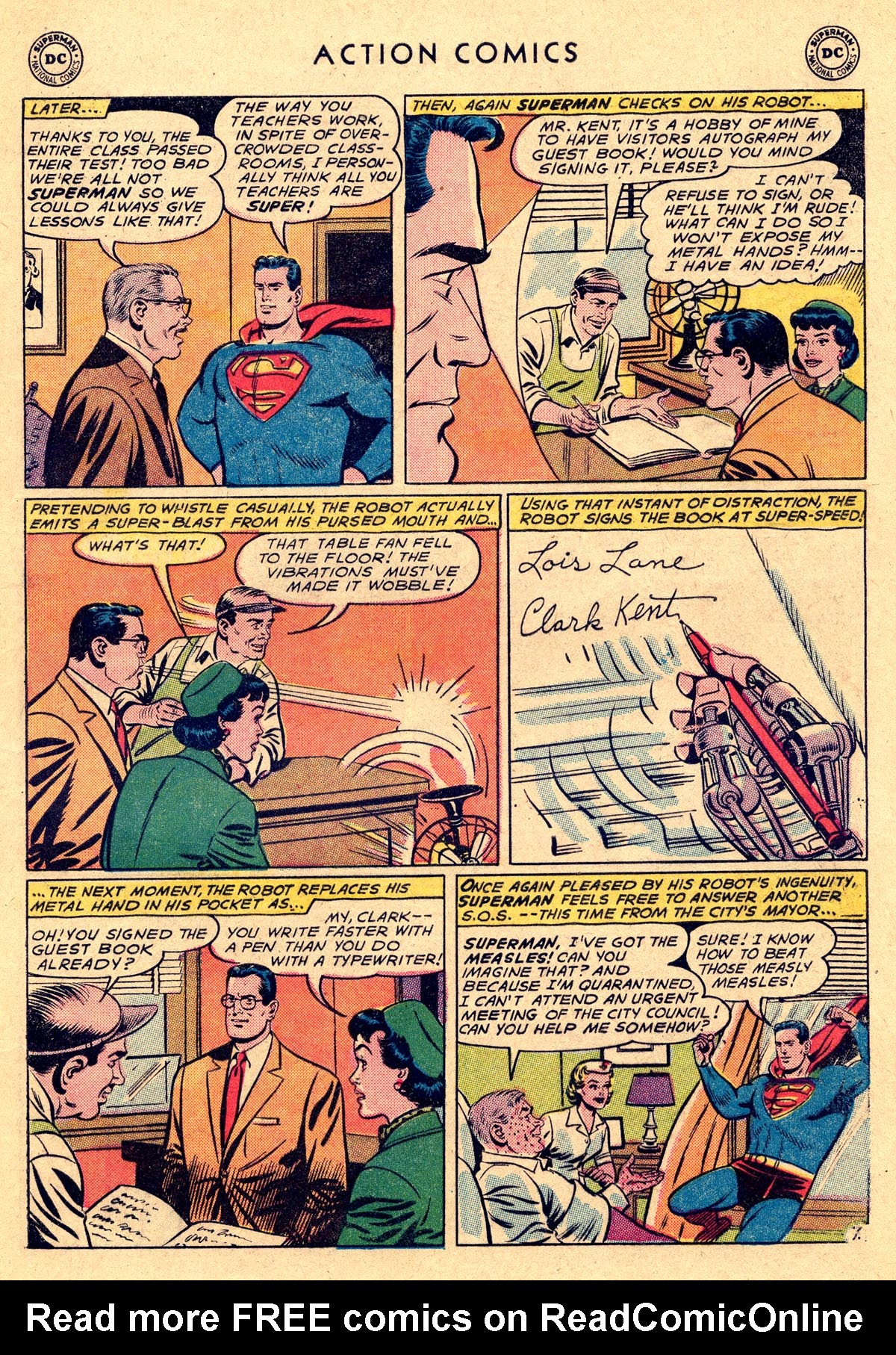 Action Comics (1938) 282 Page 8