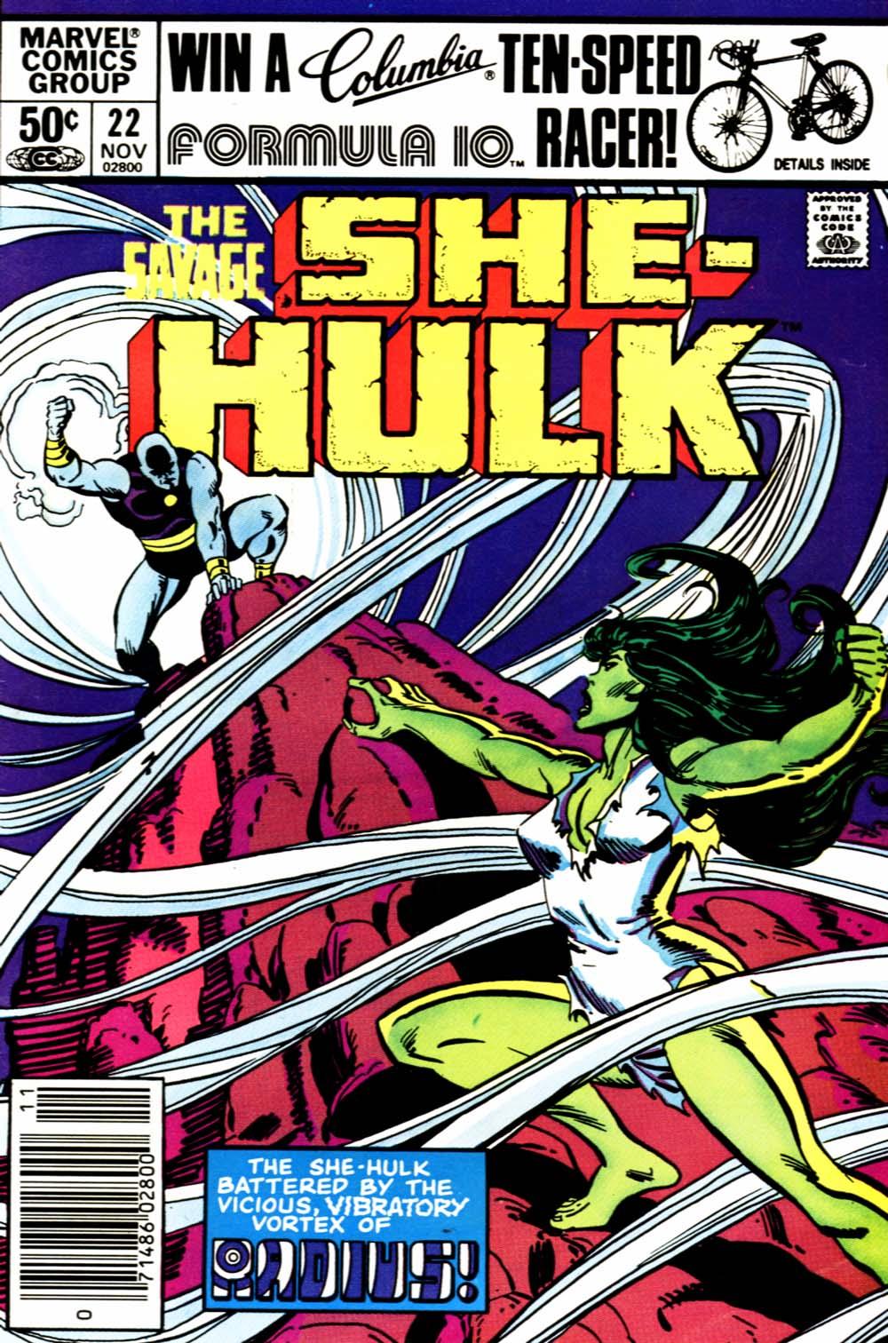 The Savage She-Hulk 22 Page 1