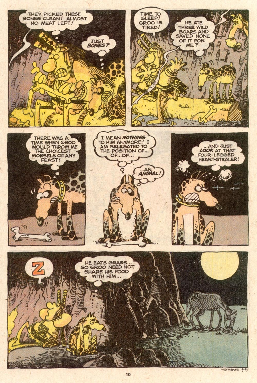 Read online Sergio Aragonés Groo the Wanderer comic -  Issue #62 - 11