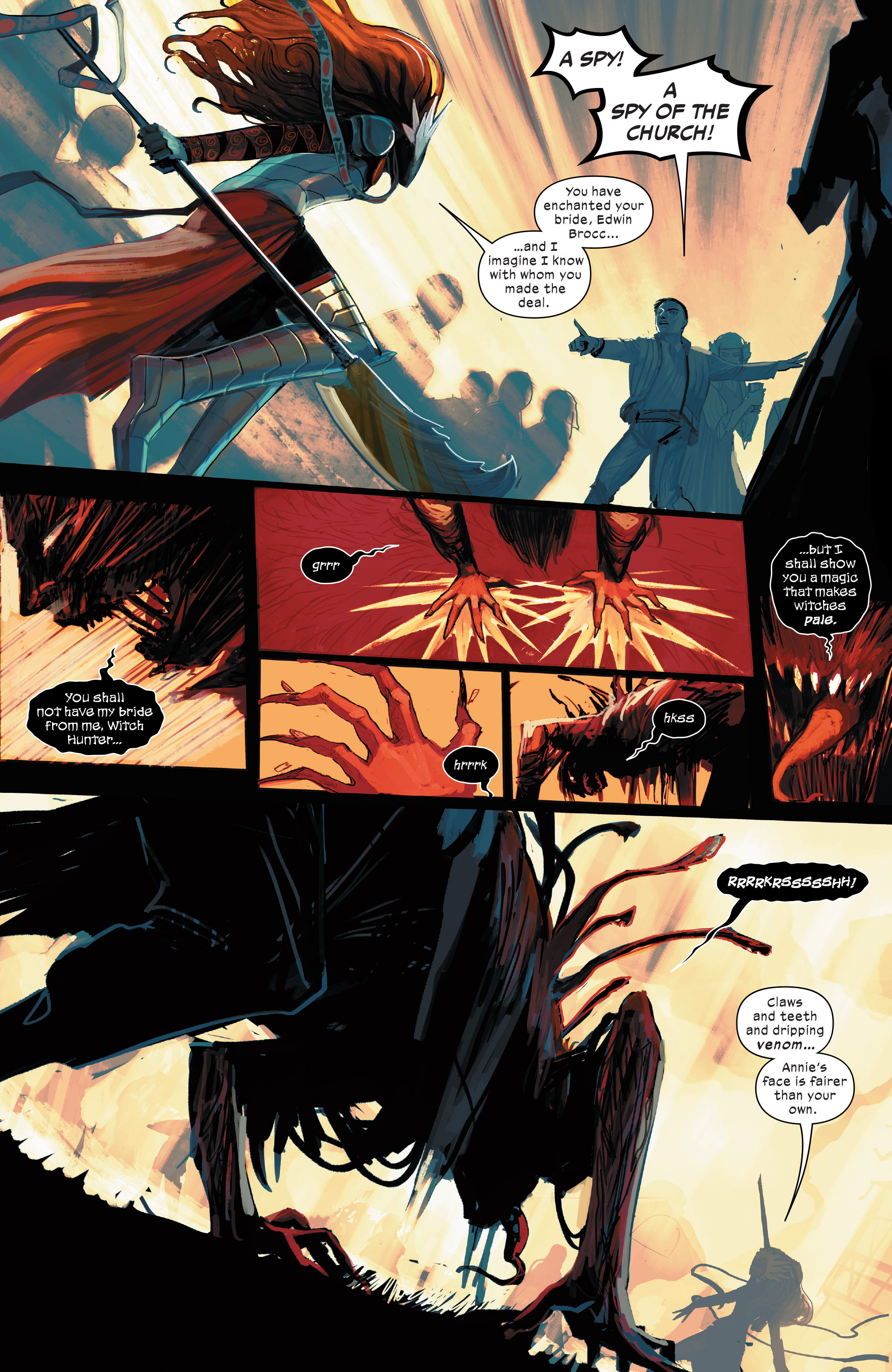 Read online 1602 Witch Hunter Angela comic -  Issue #2 - 16