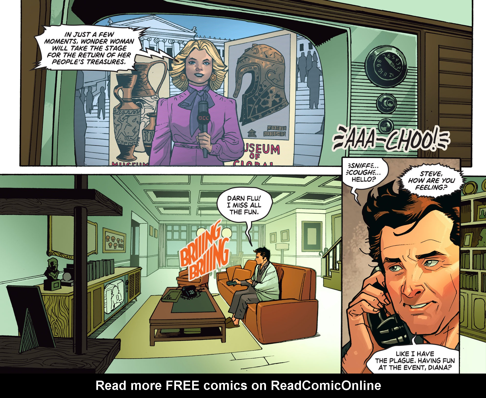 Read online Wonder Woman '77 [I] comic -  Issue #14 - 9