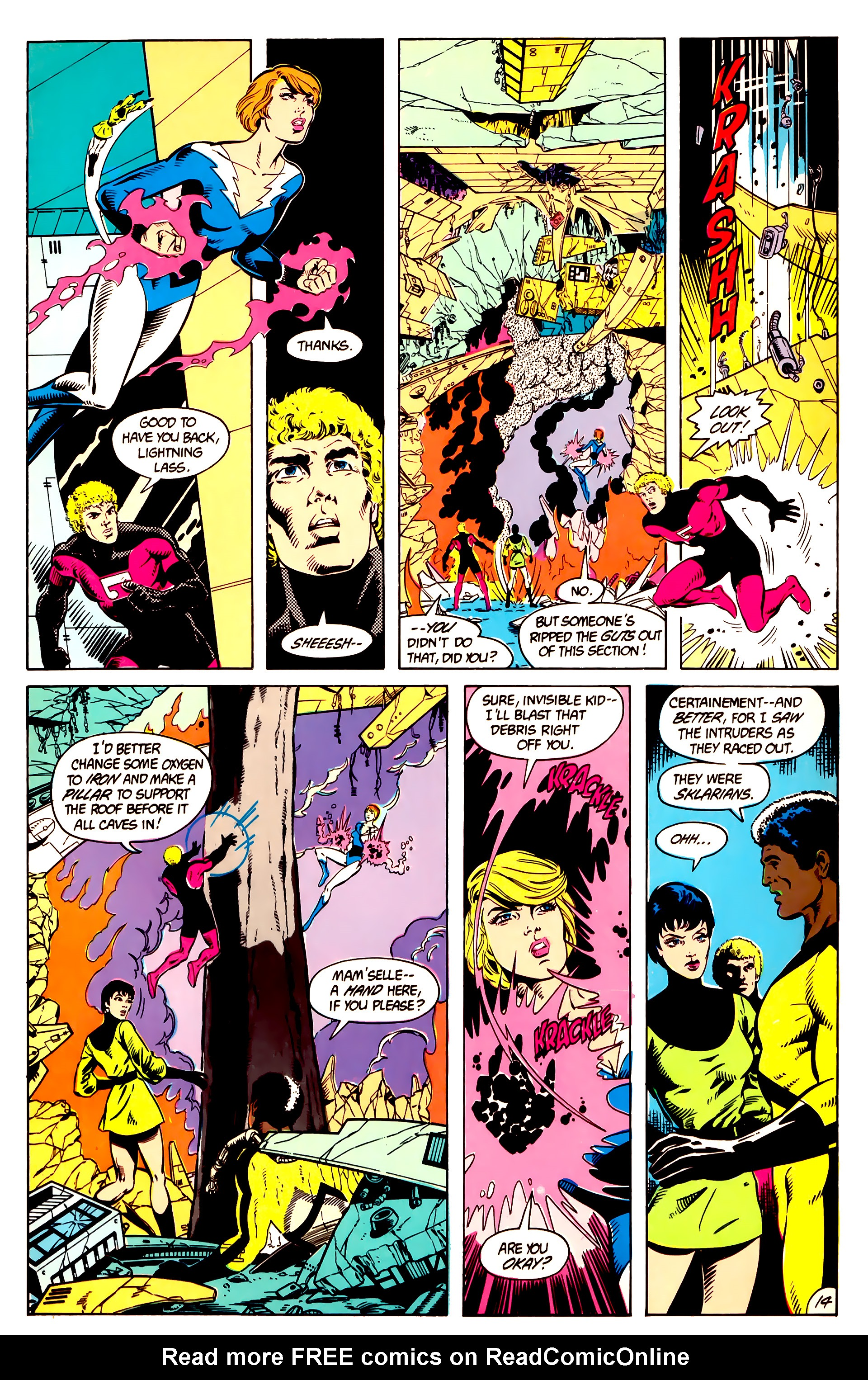 Legion of Super-Heroes (1984) 9 Page 15