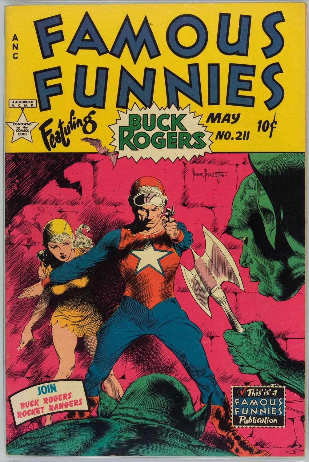 Read online Famous Funnies comic -  Issue #211 - 1