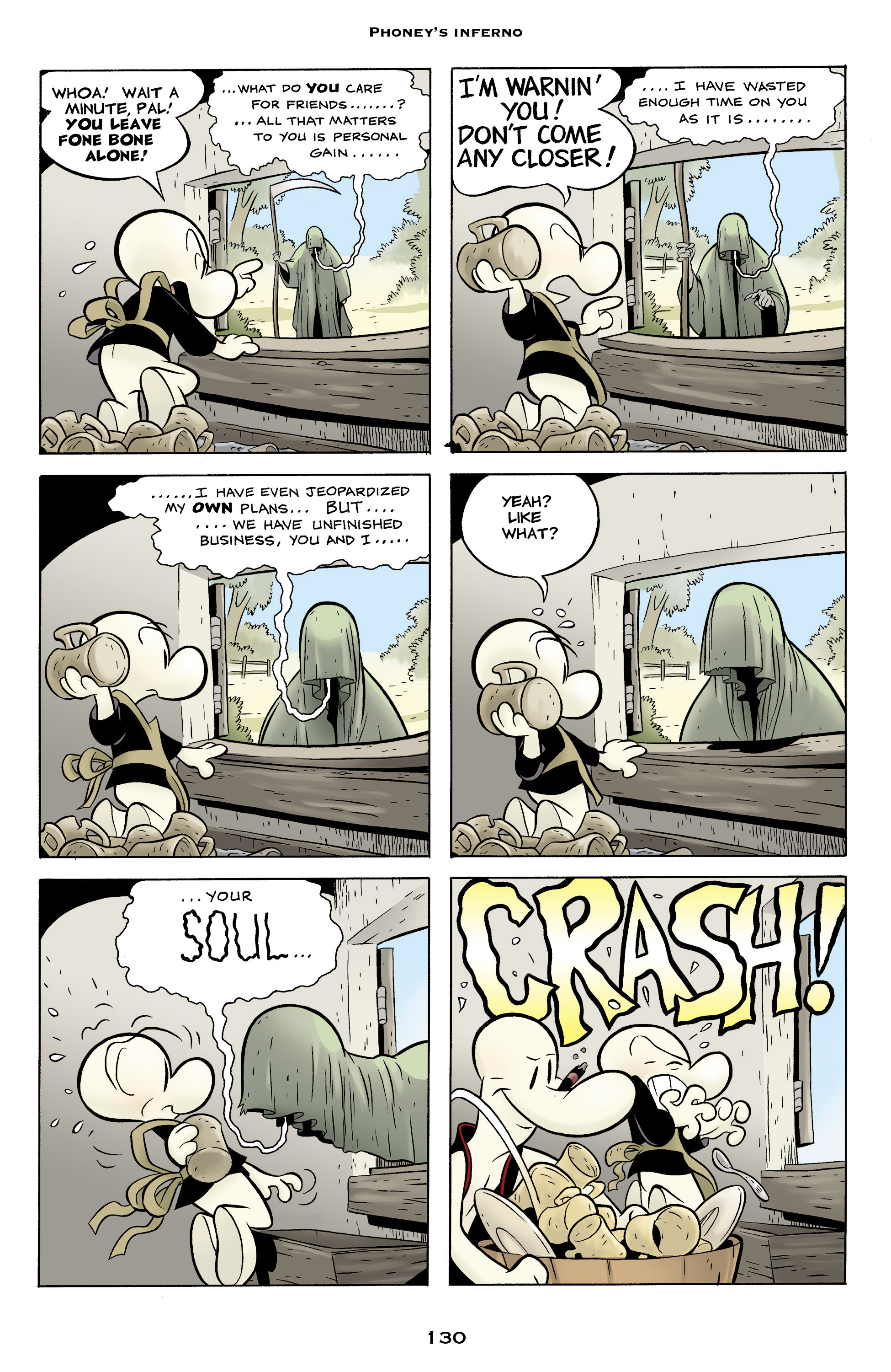 Read online Bone: Out From Boneville comic -  Issue # TPB - 130