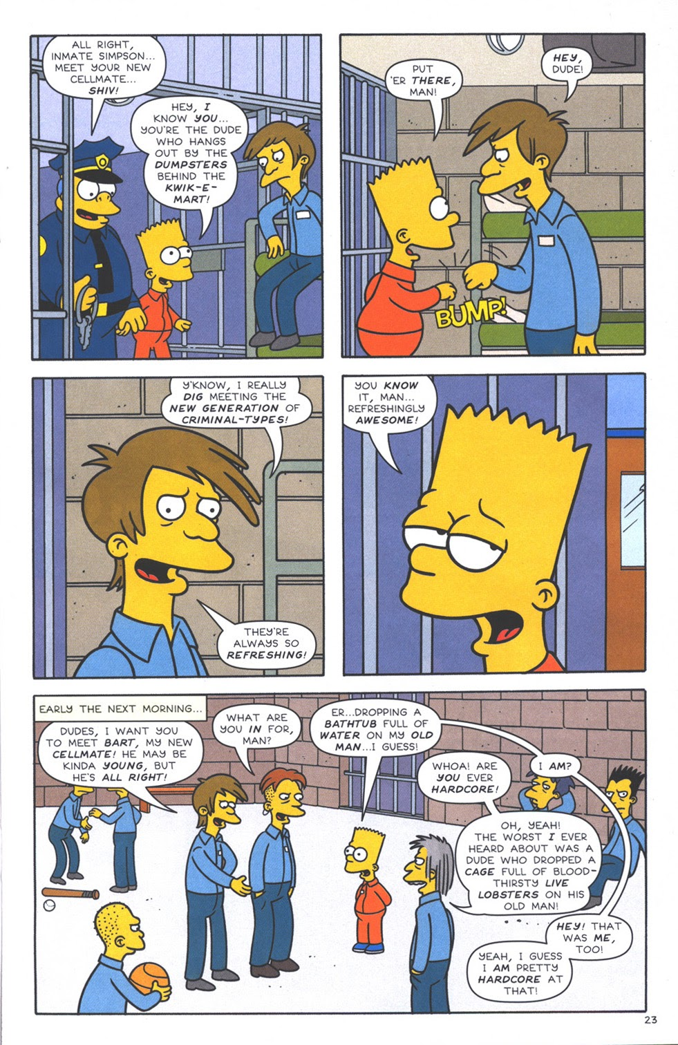 Read online The Simpsons Winter Wingding comic -  Issue #3 - 25