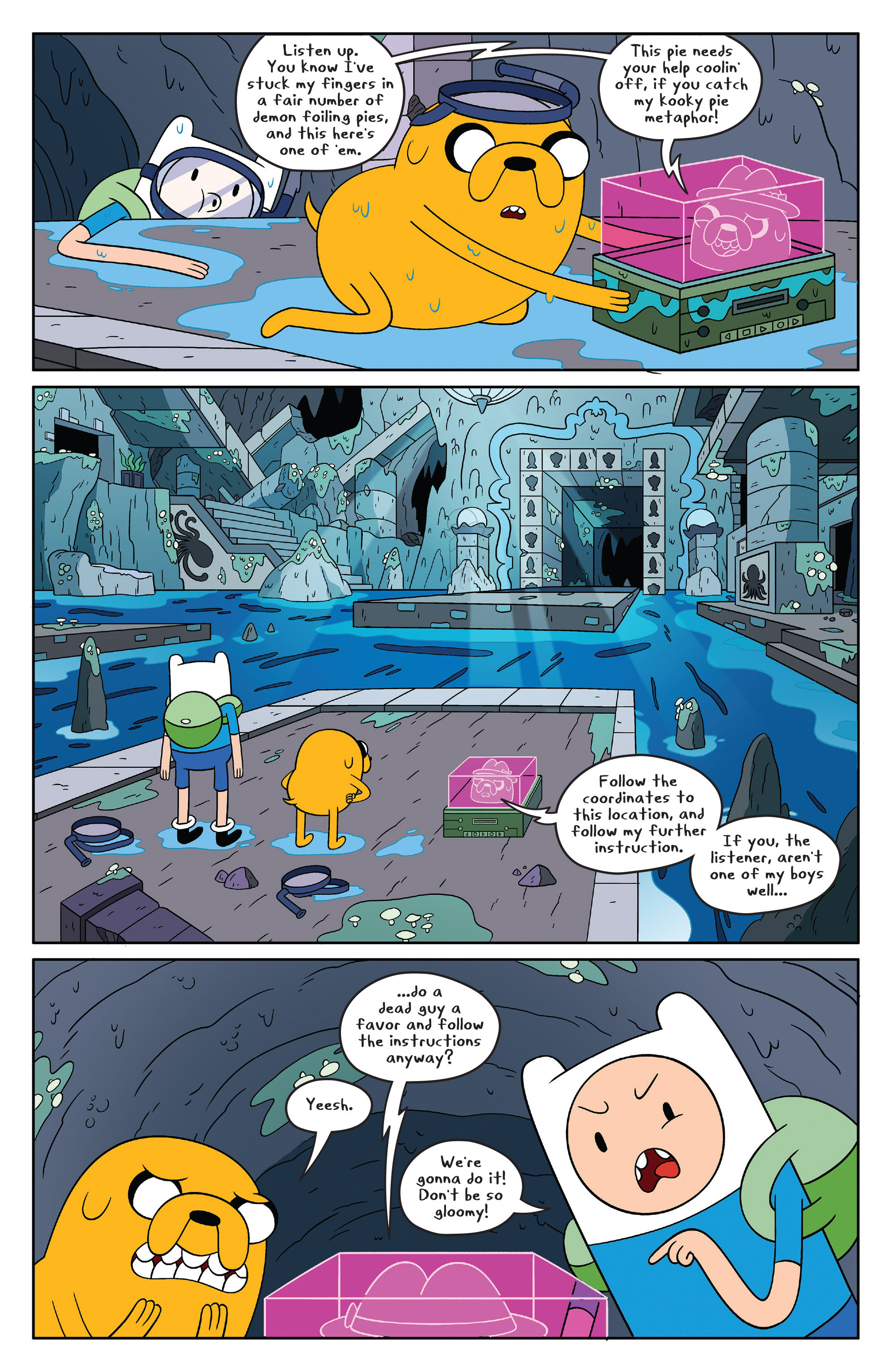 Read online Adventure Time comic -  Issue #46 - 4