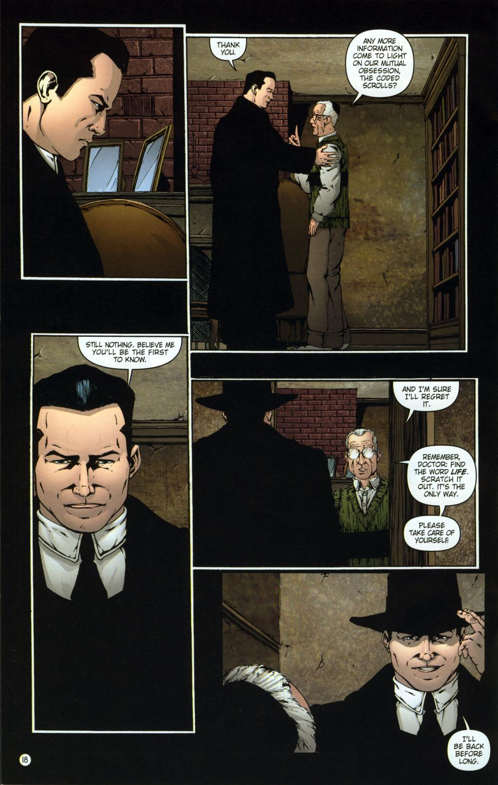 Read online Rex Mundi comic -  Issue #8 - 22