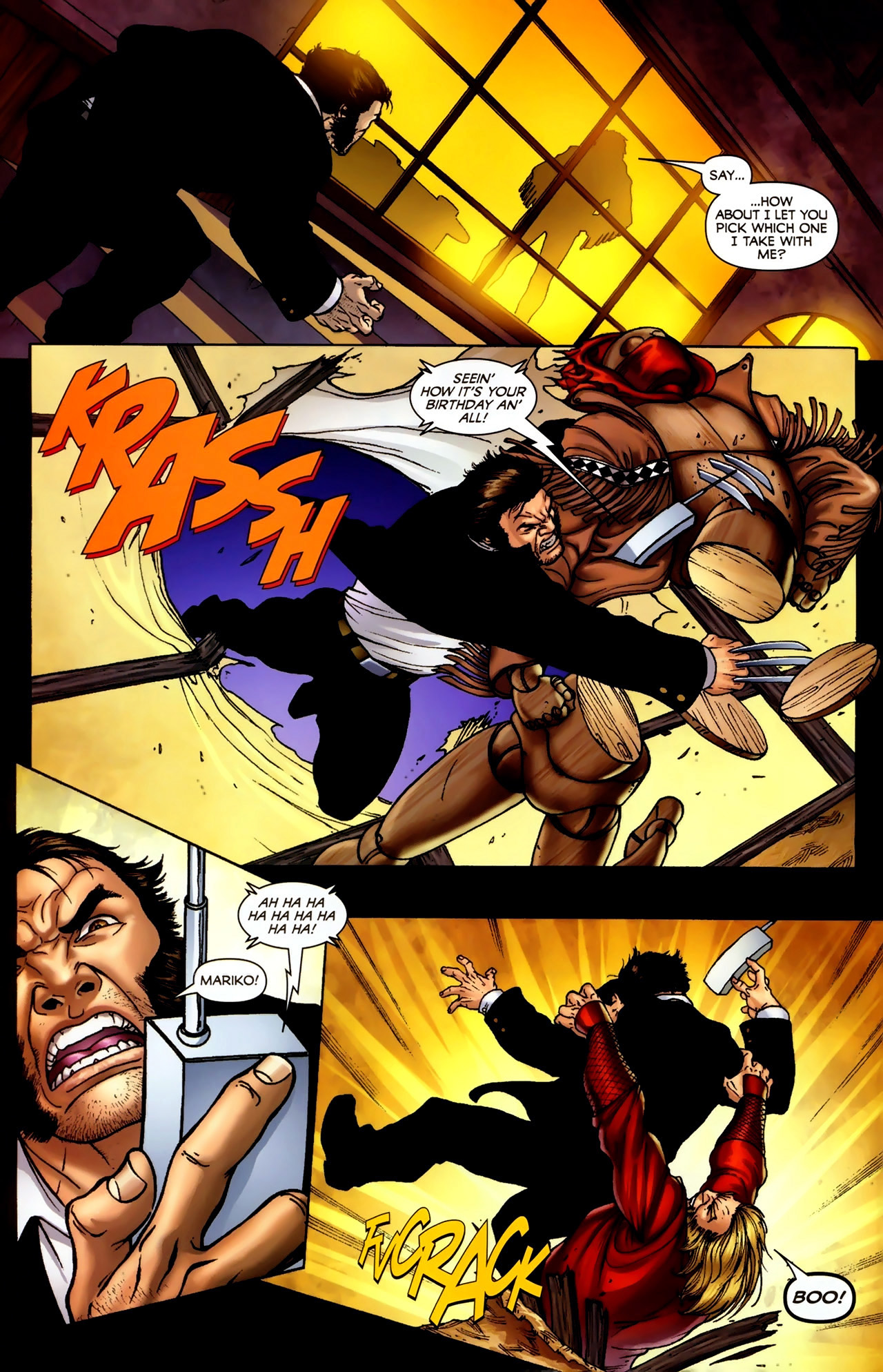 Read online Wolverine: First Class comic -  Issue #2 - 15