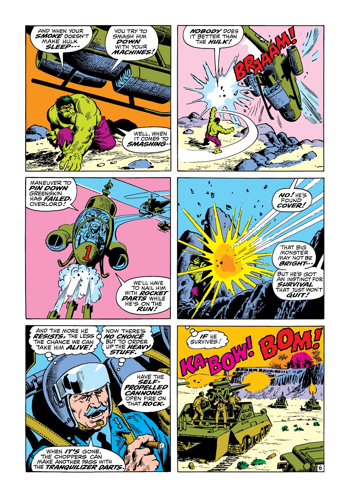 Read online Marvel Masterworks: The Incredible Hulk comic -  Issue # TPB 8 (Part 2) - 36
