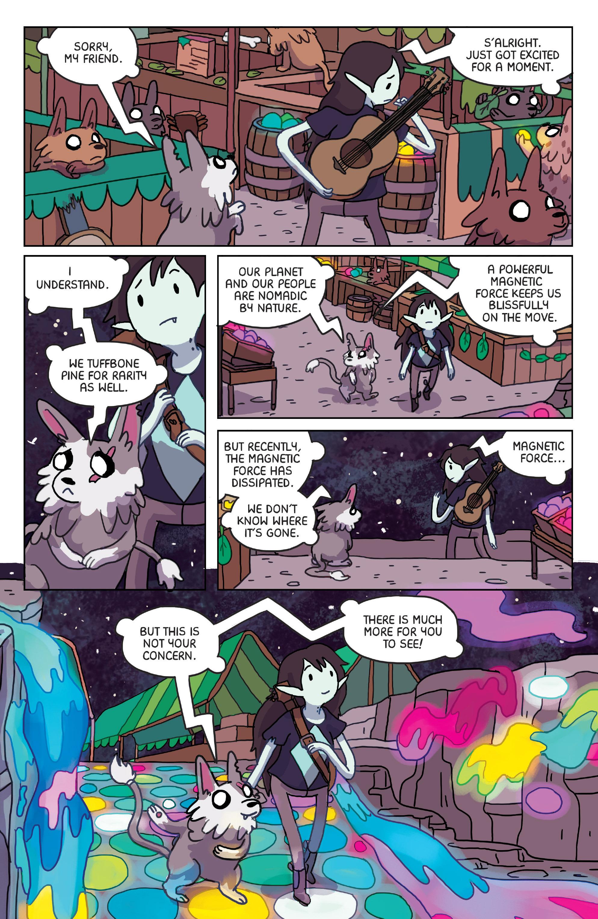 Read online Adventure Time: Marceline Gone Adrift comic -  Issue #4 - 11