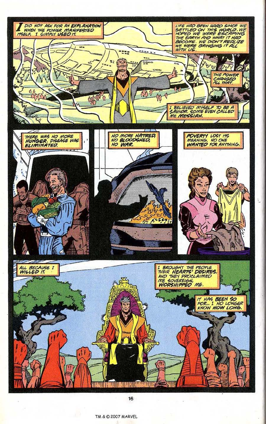 Read online Silver Surfer (1987) comic -  Issue # _Annual 4 - 18