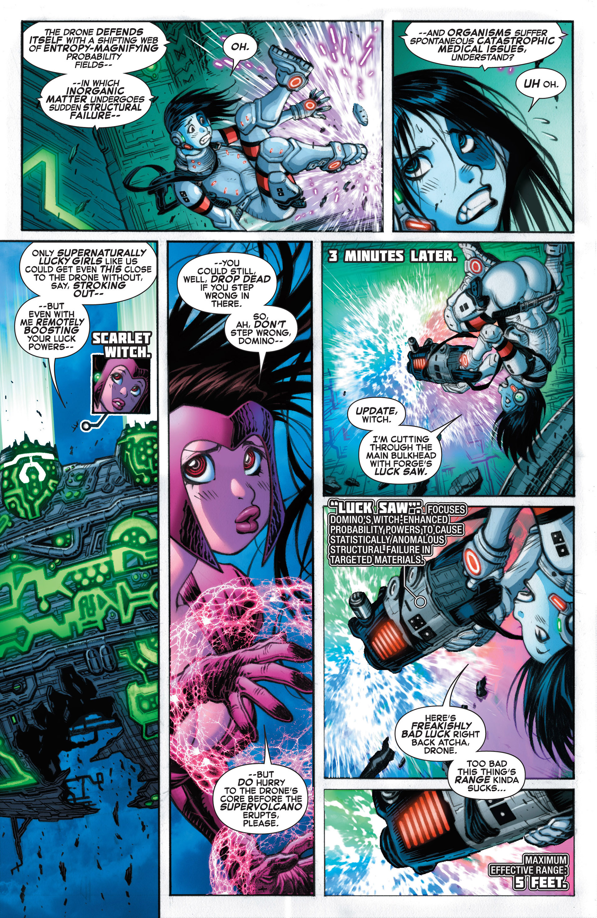 Read online A X comic -  Issue #10 - 16