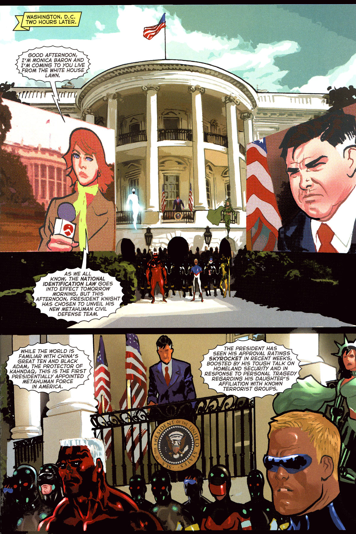 Read online Uncle Sam and the Freedom Fighters (2006) comic -  Issue #7 - 20