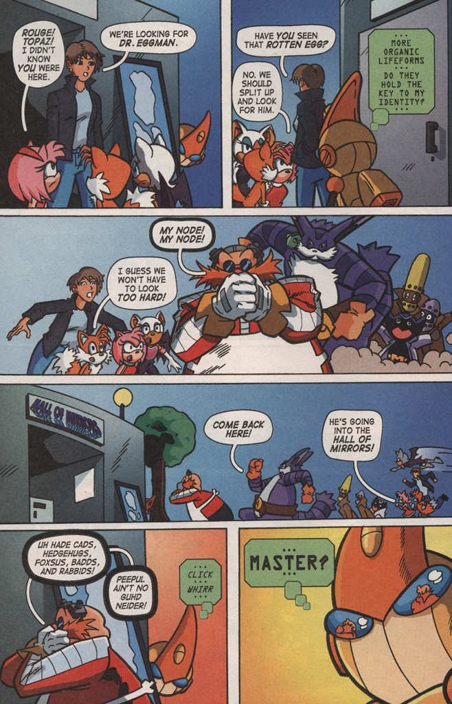 Read online Sonic X comic -  Issue #8 - 32