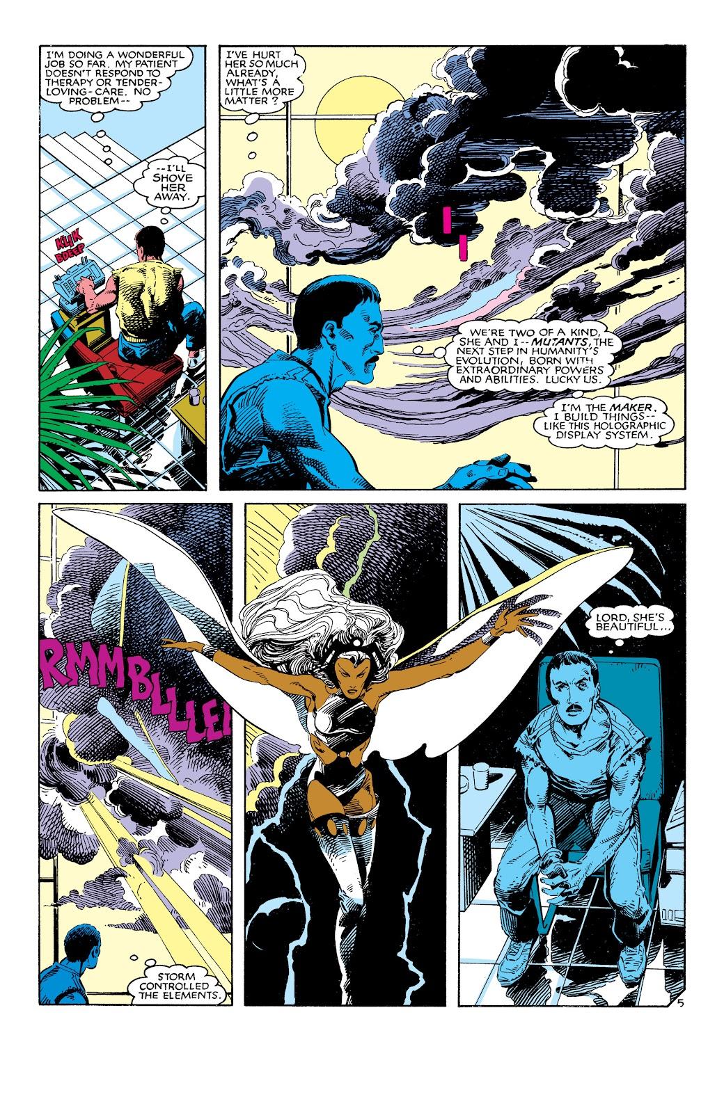Uncanny X-Men (1963) issue 186 - Page 6