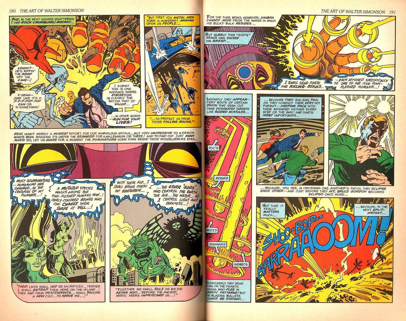 Read online The Art of Walter Simonson comic -  Issue # TPB - 97