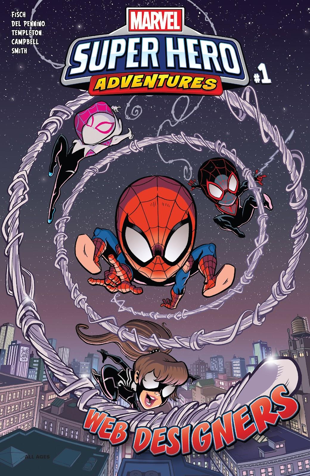 Read online Marvel Super Hero Adventures: Spider-Man – Web Designers comic -  Issue # Full - 1