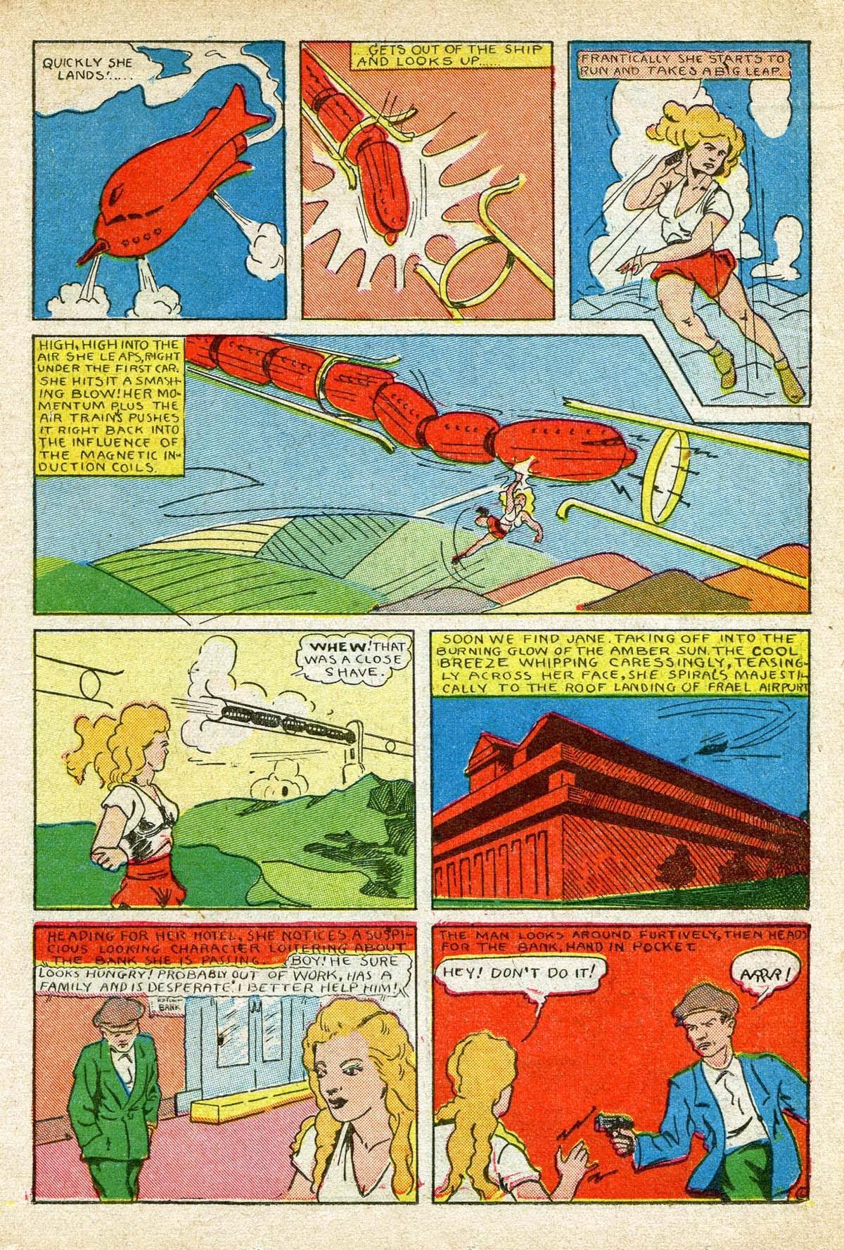 Read online Amazing Man Comics comic -  Issue #8 - 35