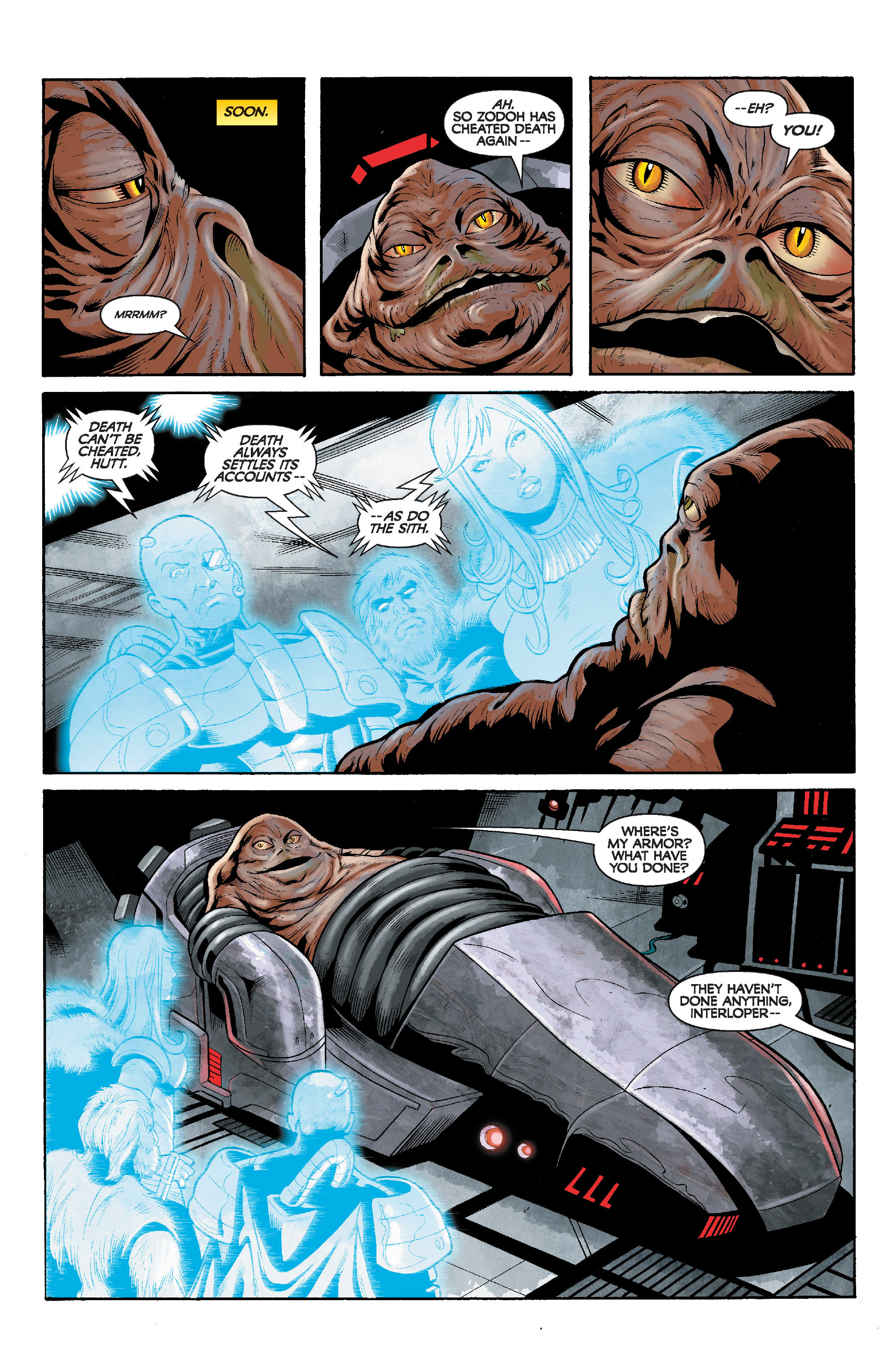 Read online Star Wars: Knight Errant - Deluge comic -  Issue #5 - 19