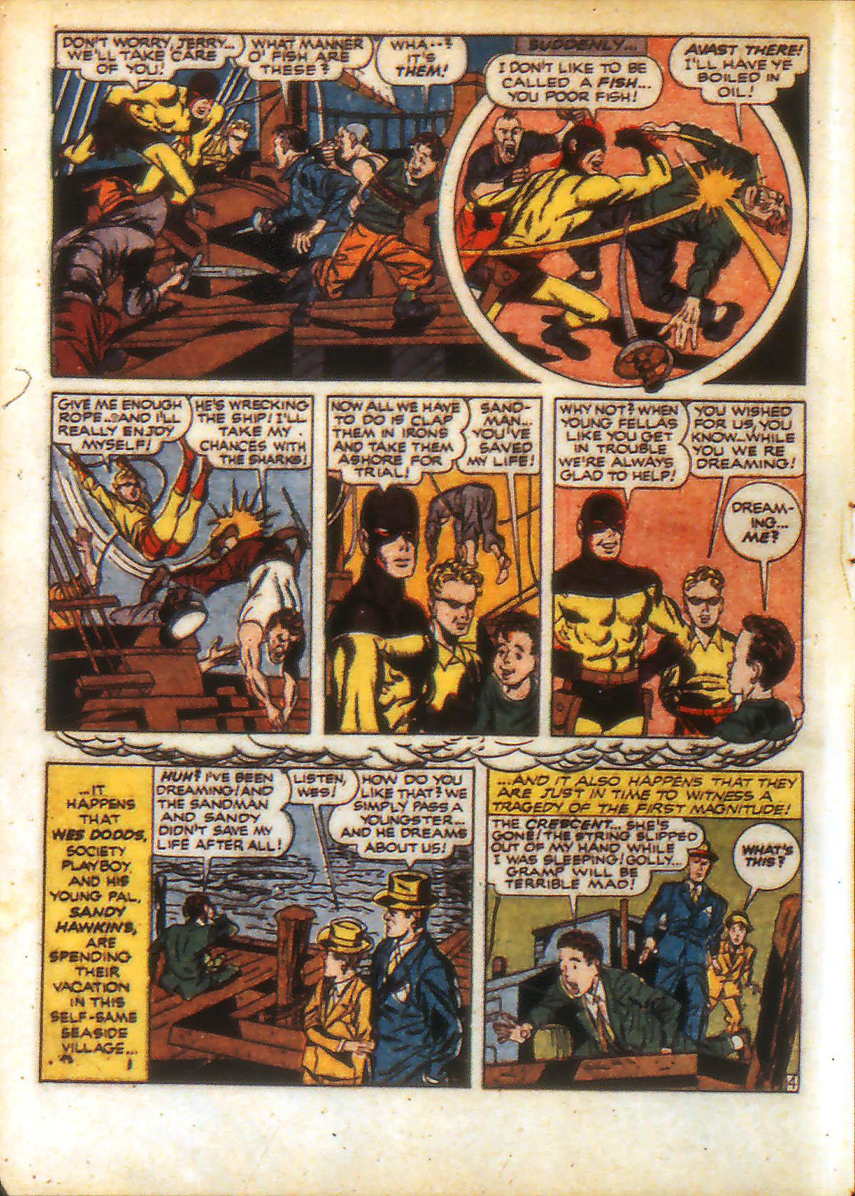 Read online Adventure Comics (1938) comic -  Issue #88 - 6