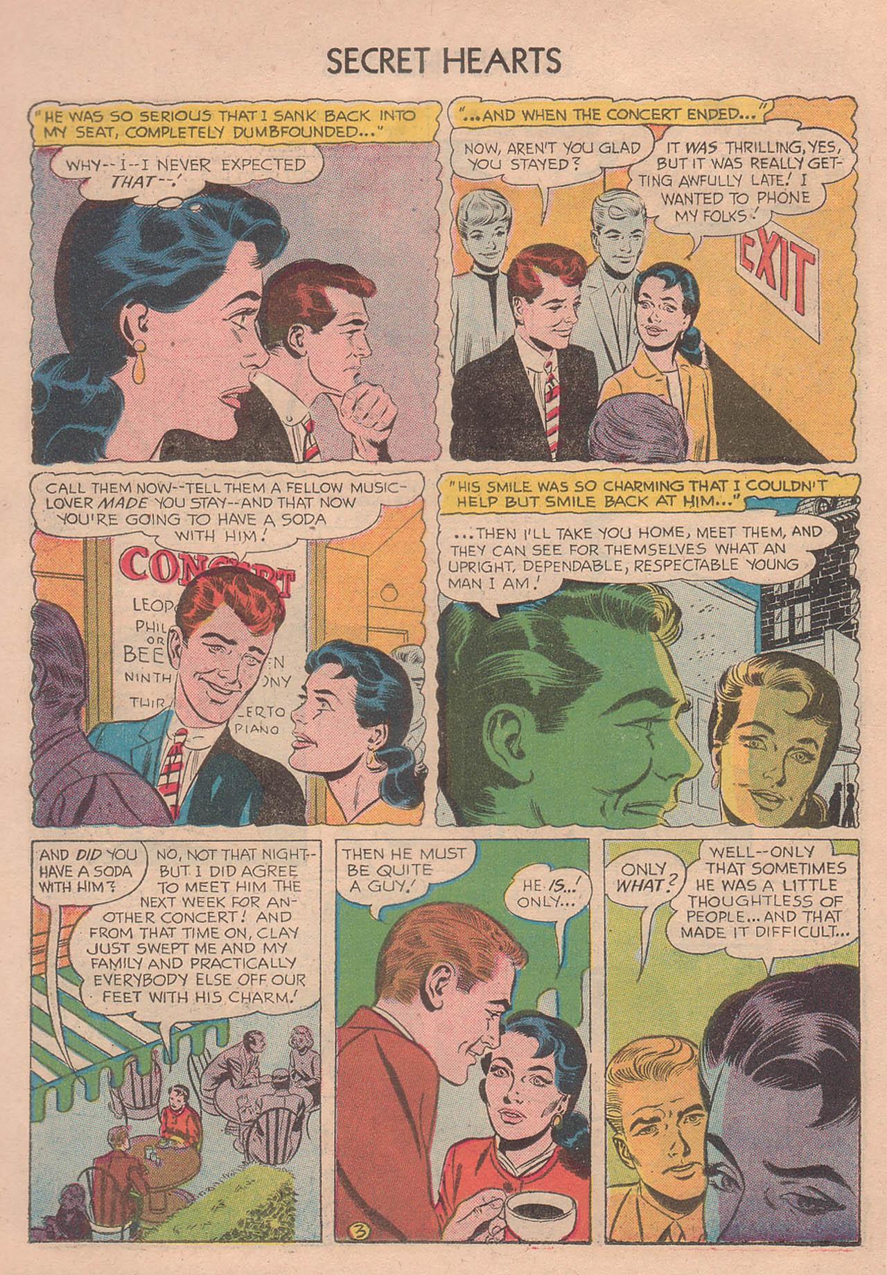 Read online Secret Hearts comic -  Issue #39 - 22
