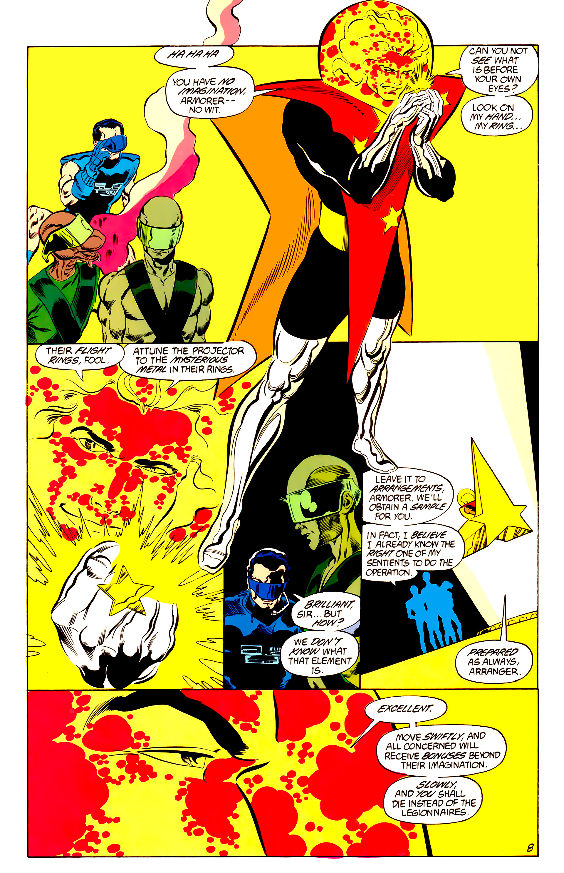 Legion of Super-Heroes (1984) 48 Page 8