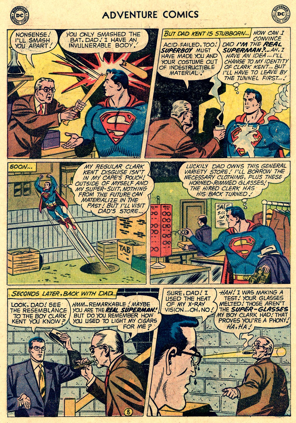 Read online Adventure Comics (1938) comic -  Issue #265 - 10