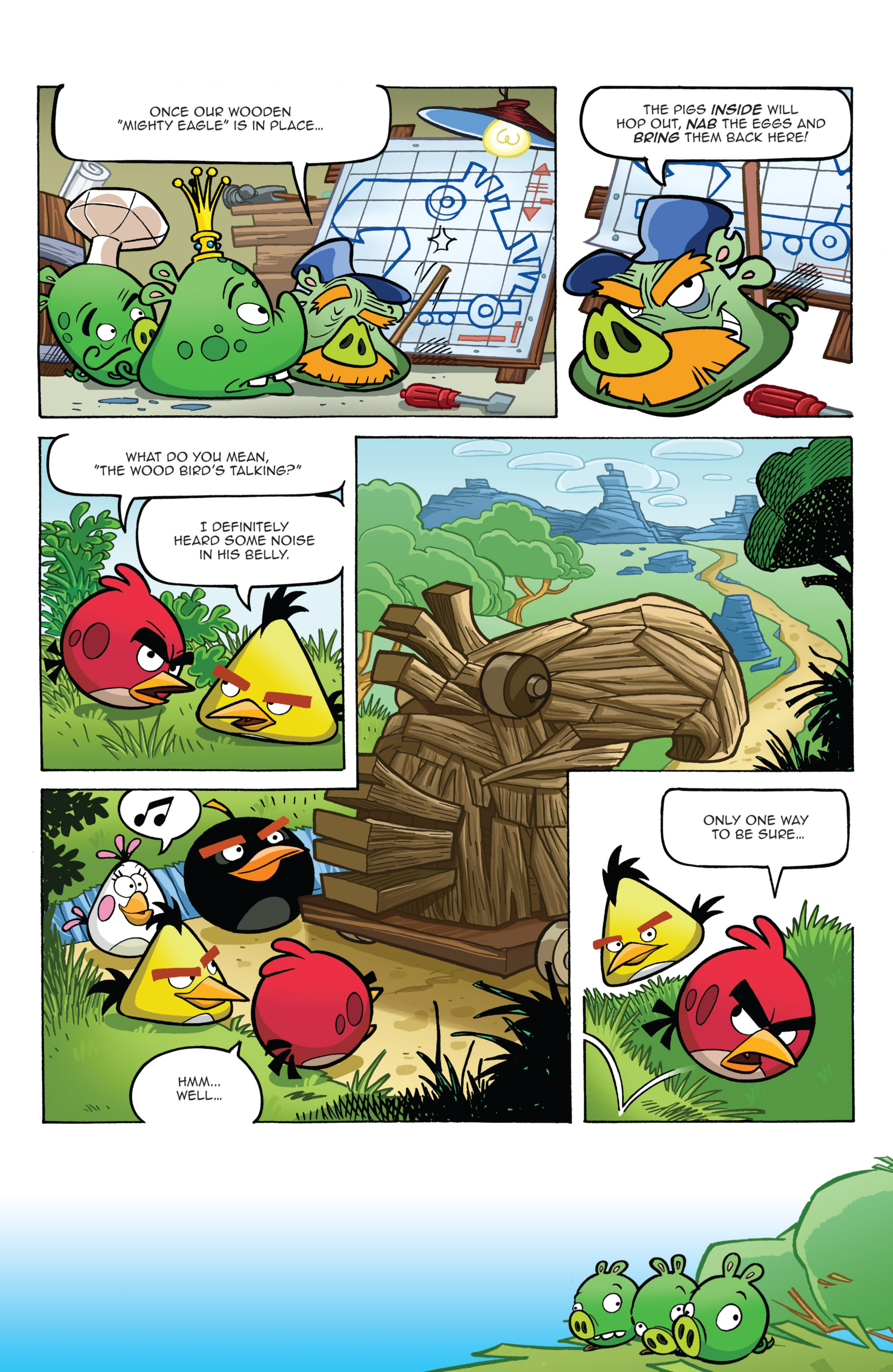 Read online Angry Birds Comics (2014) comic -  Issue #2 - 11