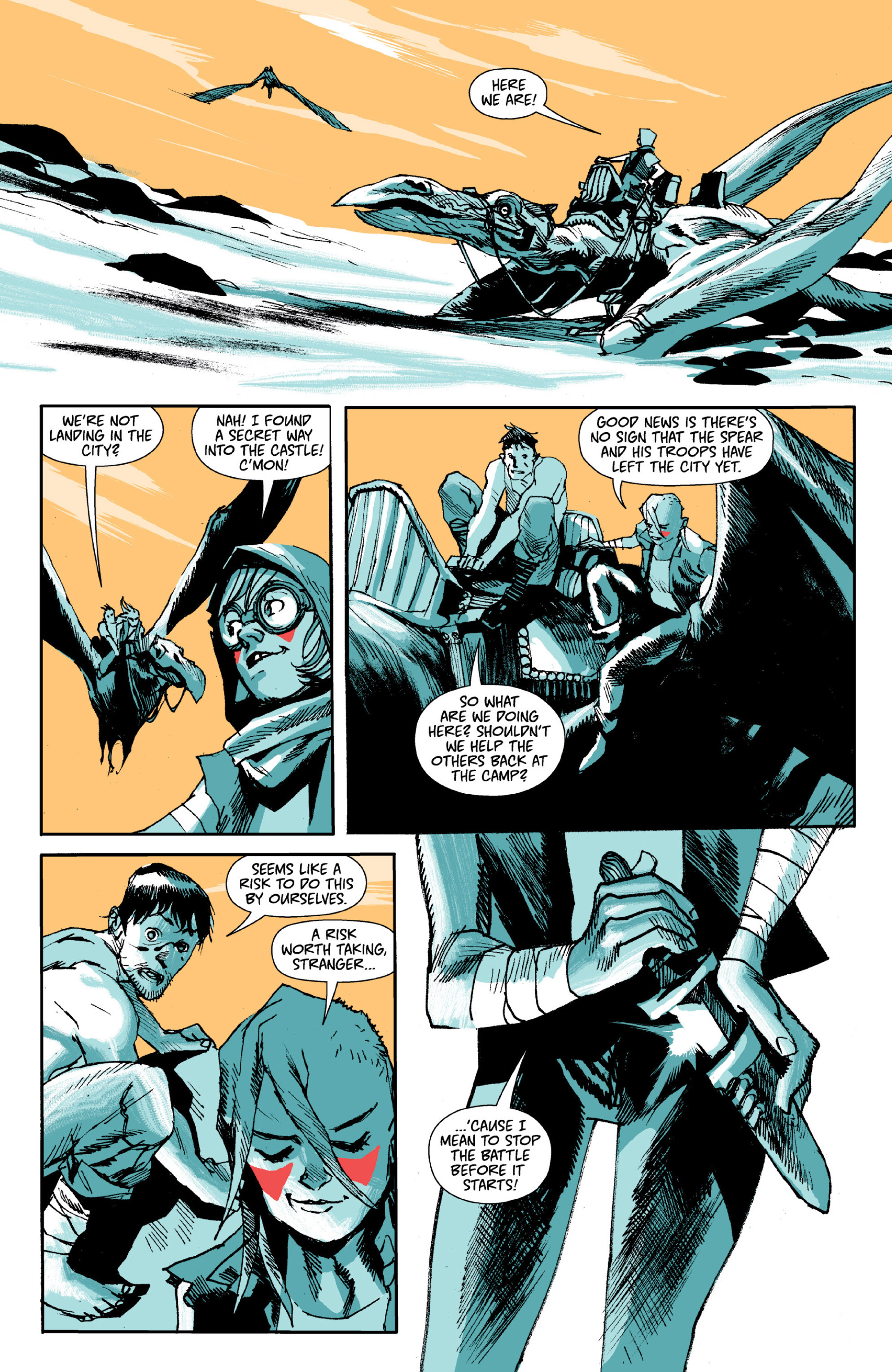 Read online Ei8ht comic -  Issue # TPB - 67