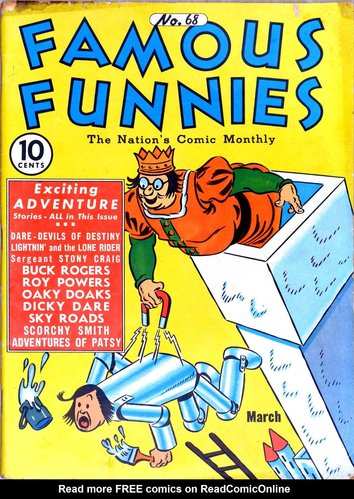 Read online Famous Funnies comic -  Issue #68 - 1