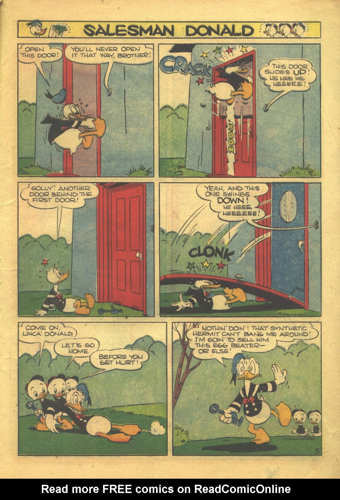 Walt Disney's Comics and Stories issue 39 - Page 7