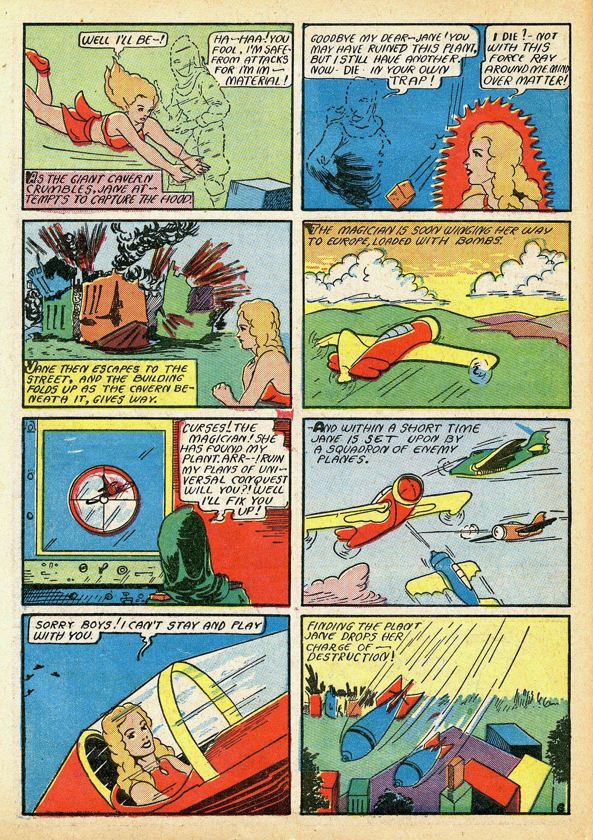 Read online Amazing Man Comics comic -  Issue #10 - 25