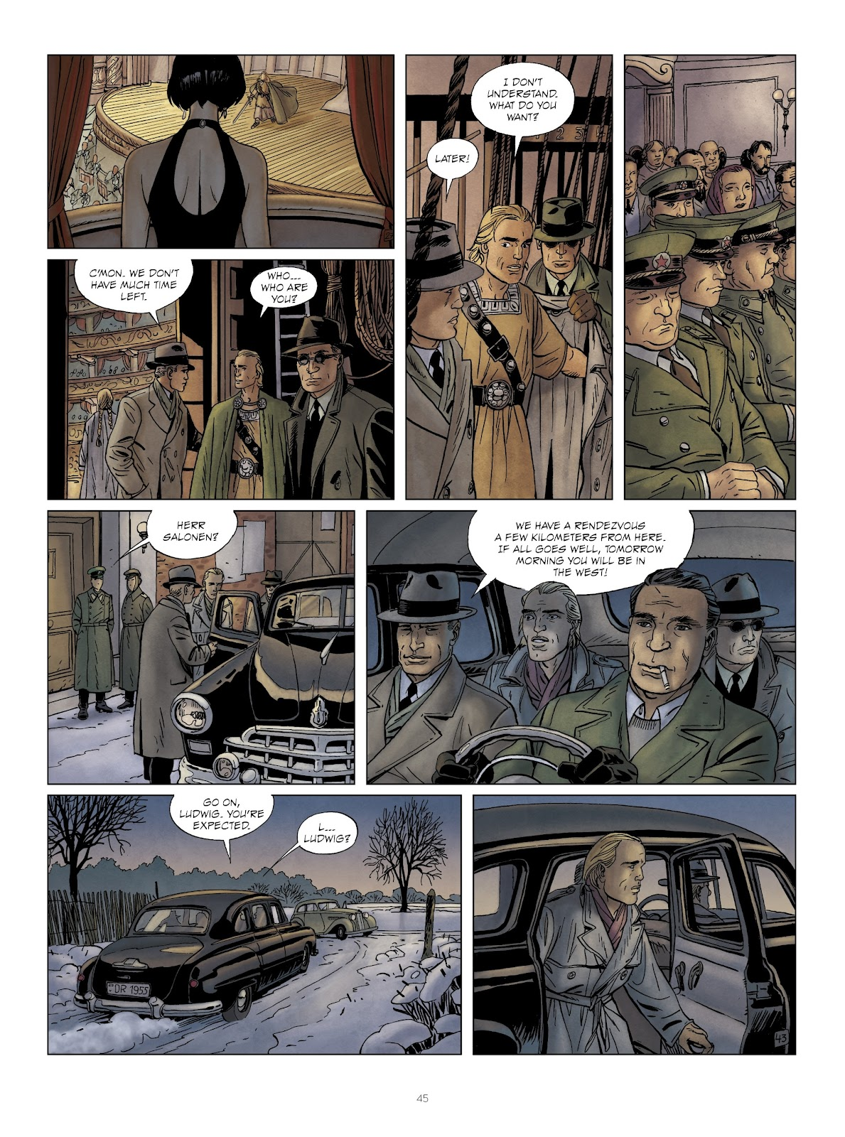 Read online Sherman comic -  Issue #6 - 45