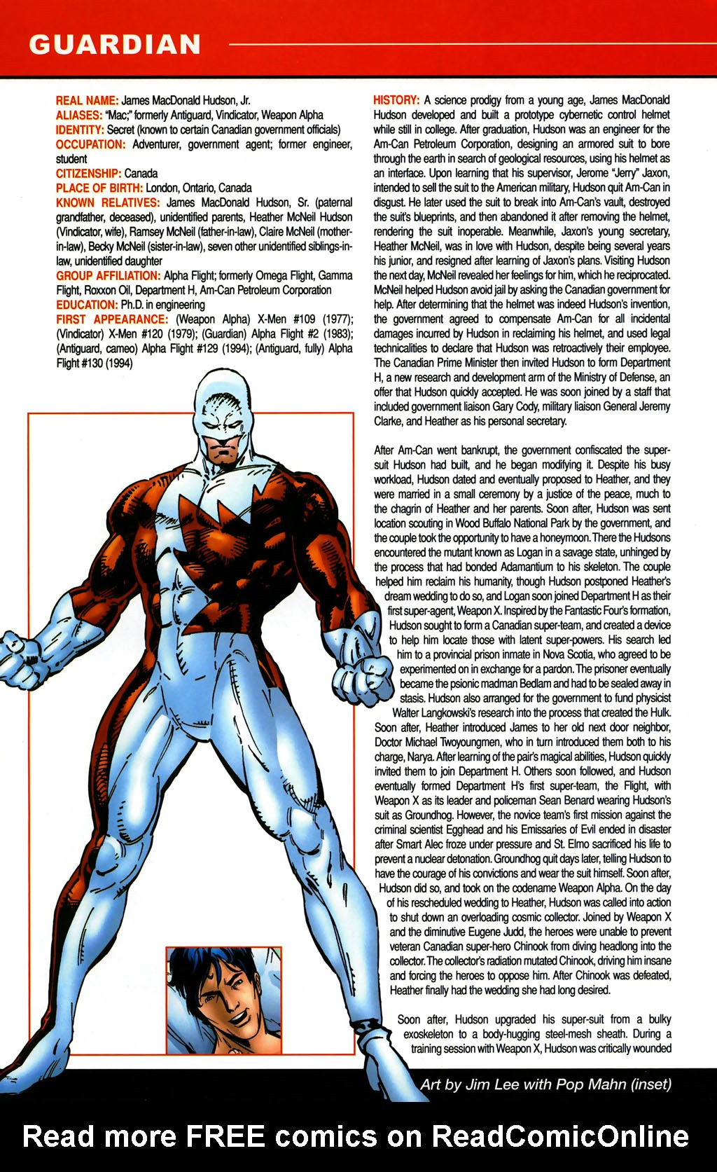 Read online All-New Official Handbook of the Marvel Universe A to Z comic -  Issue #5 - 10
