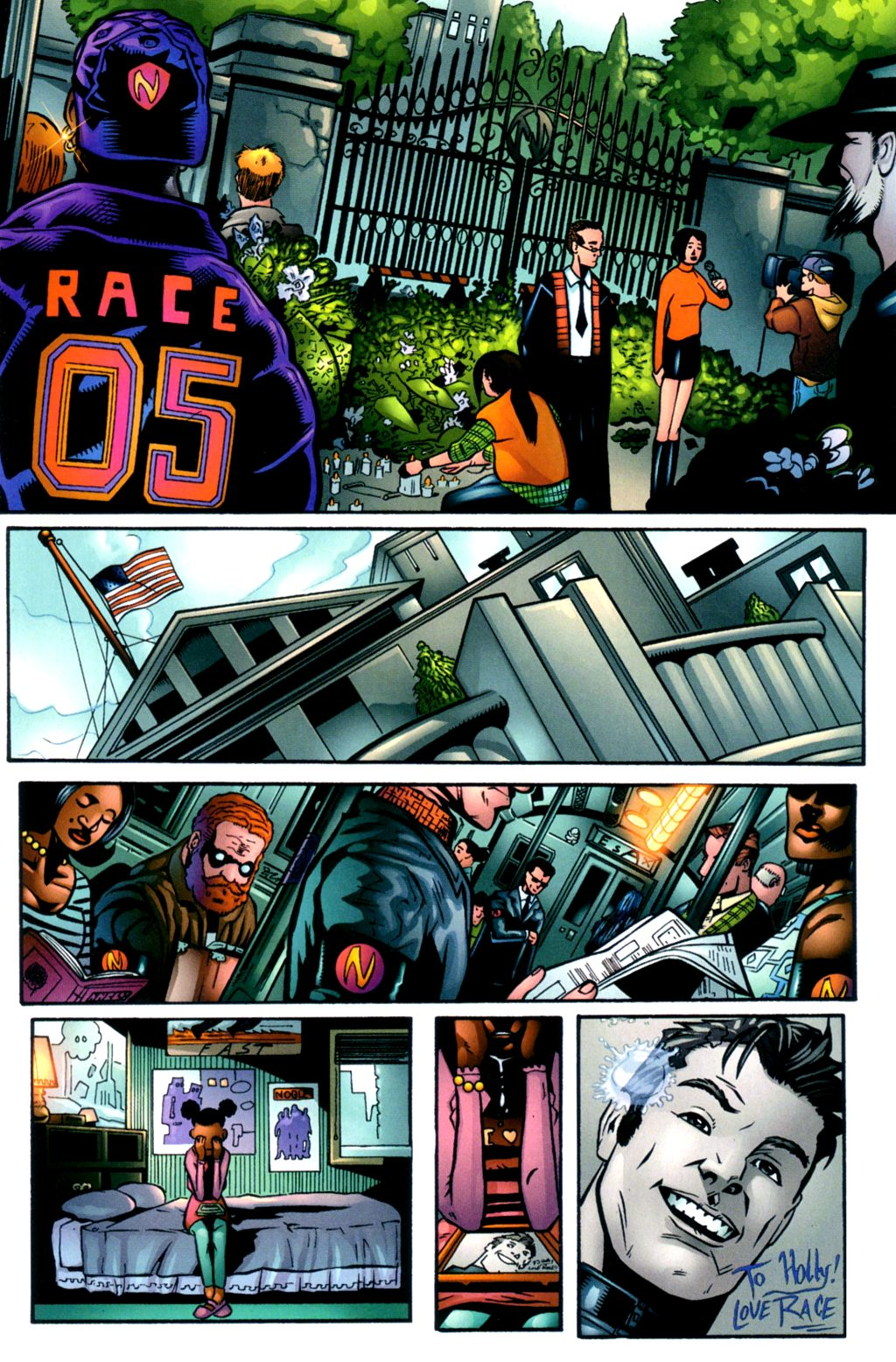 Read online Noble Causes (2002) comic -  Issue #2 - 4