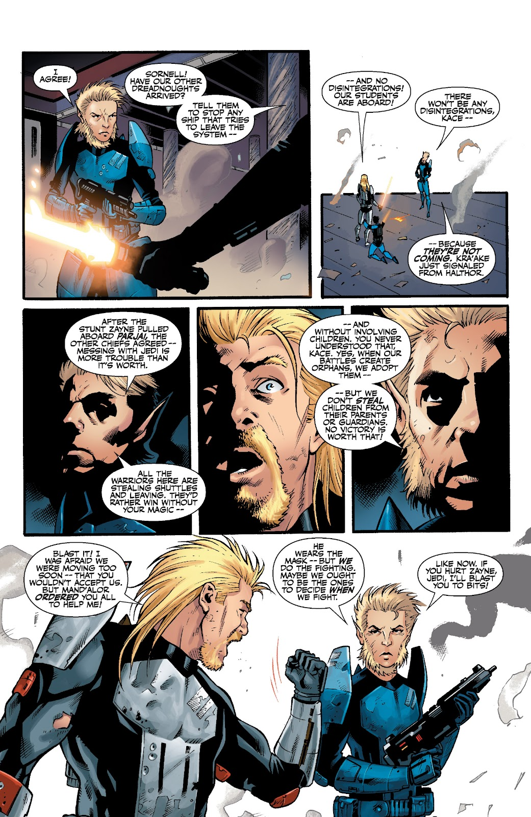 Read online Star Wars Legends: The Old Republic - Epic Collection comic -  Issue # TPB 3 (Part 5) - 11