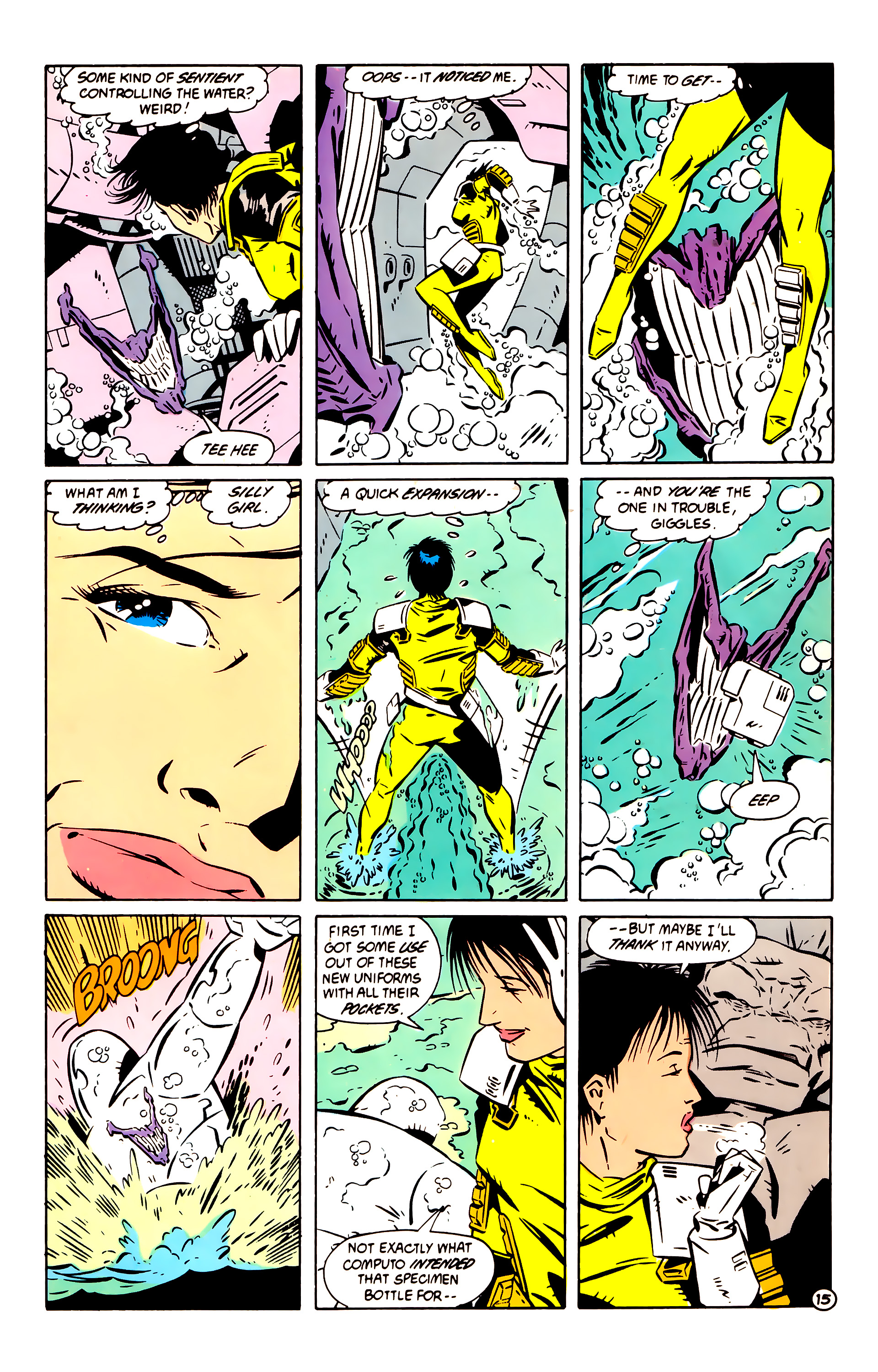 Legion of Super-Heroes (1984) 60 Page 15