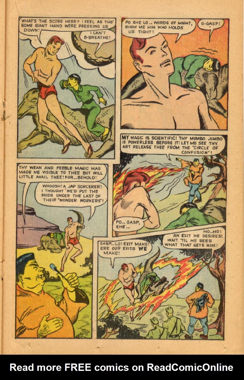 Read online Super-Magician Comics comic -  Issue #45 - 29