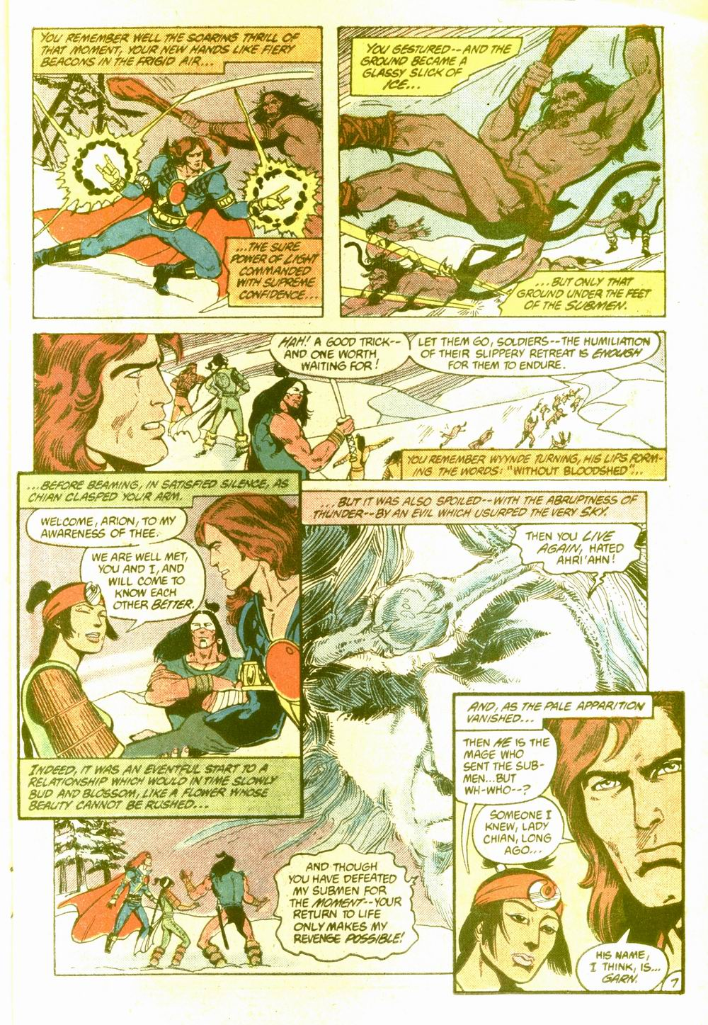 Read online Arion, Lord of Atlantis comic -  Issue #5 - 8