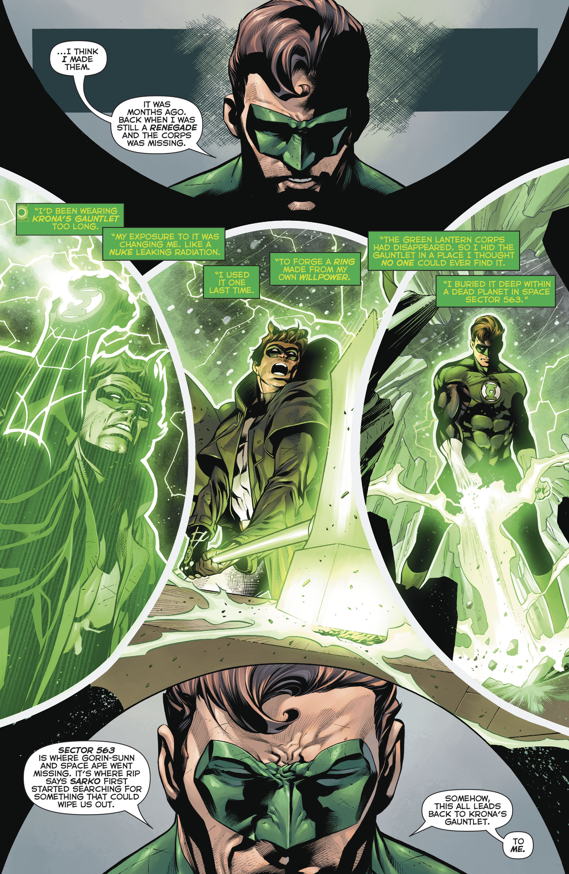 Read online Hal Jordan And The Green Lantern Corps comic -  Issue #20 - 15