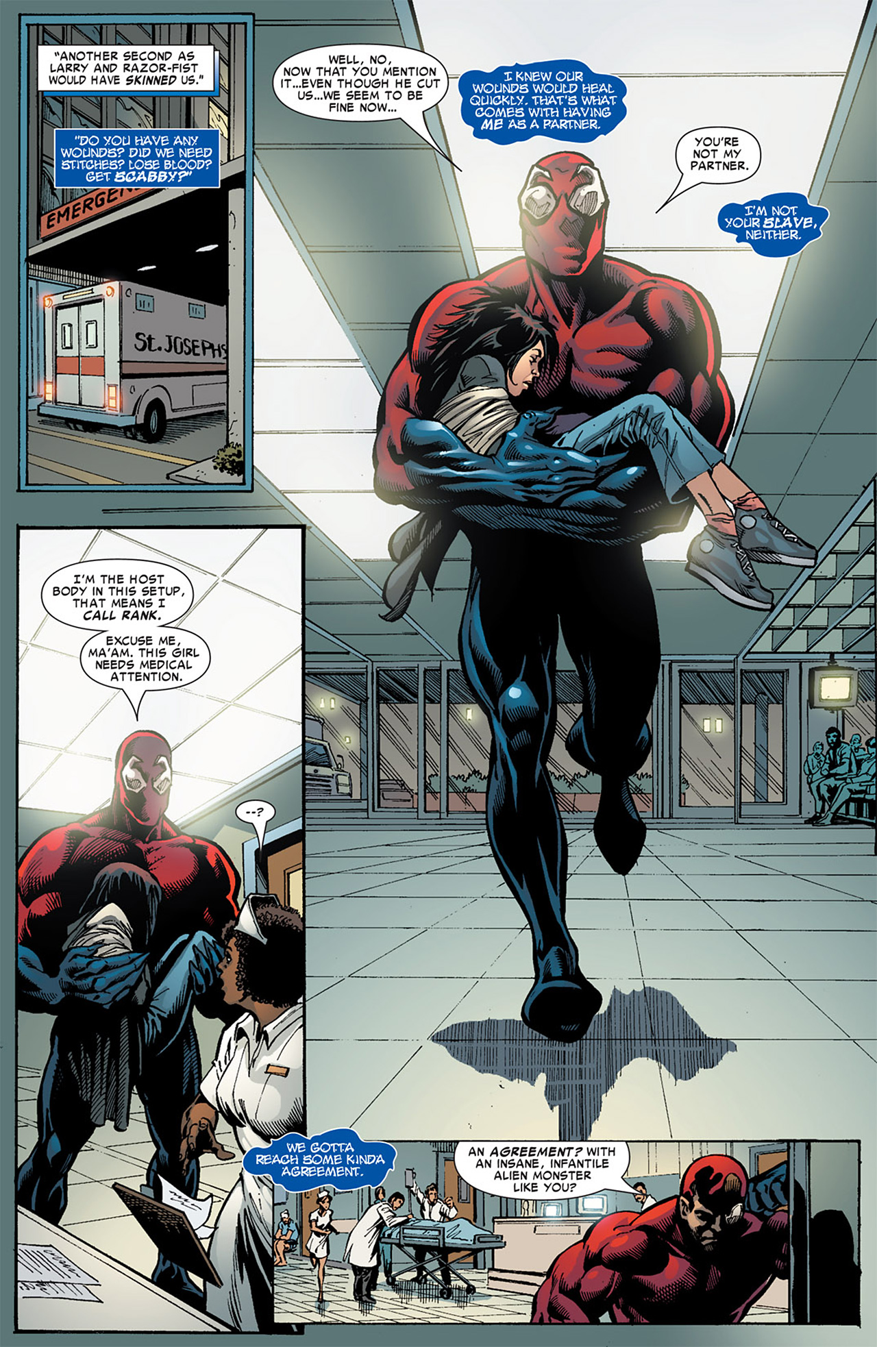 Read online Toxin comic -  Issue #3 - 9