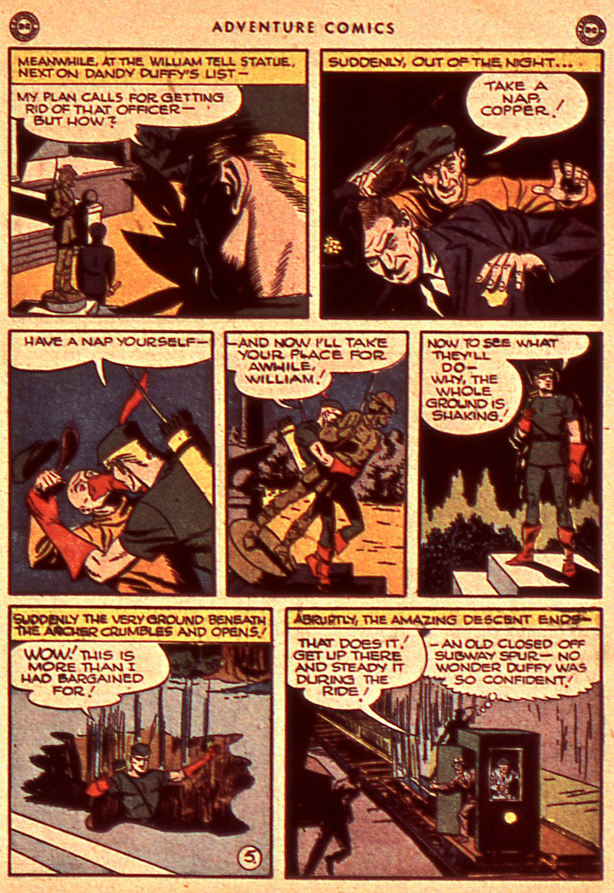 Read online Adventure Comics (1938) comic -  Issue #106 - 15